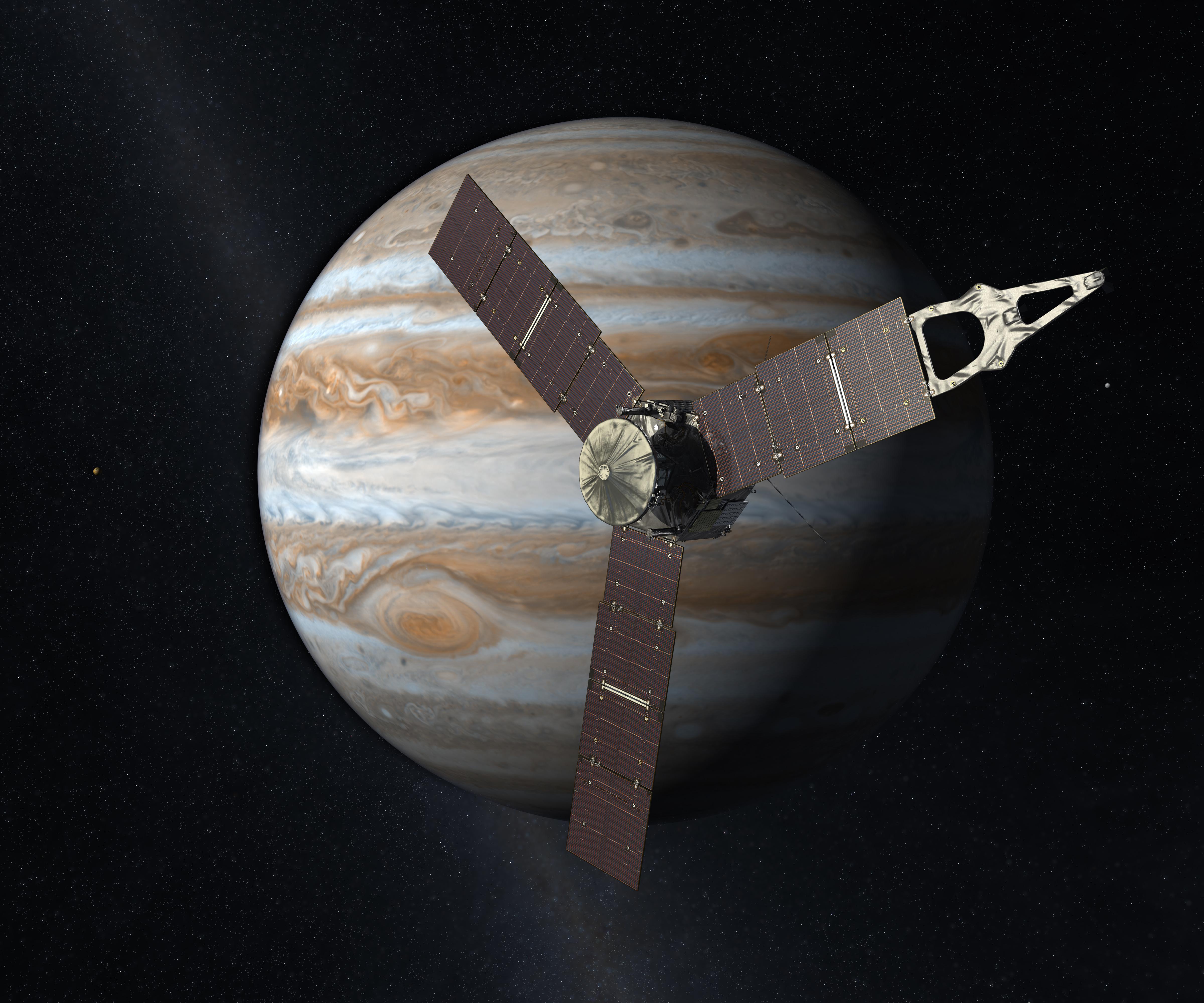 nasa u0027s juno spacecraft breaks solar power distance record nasa