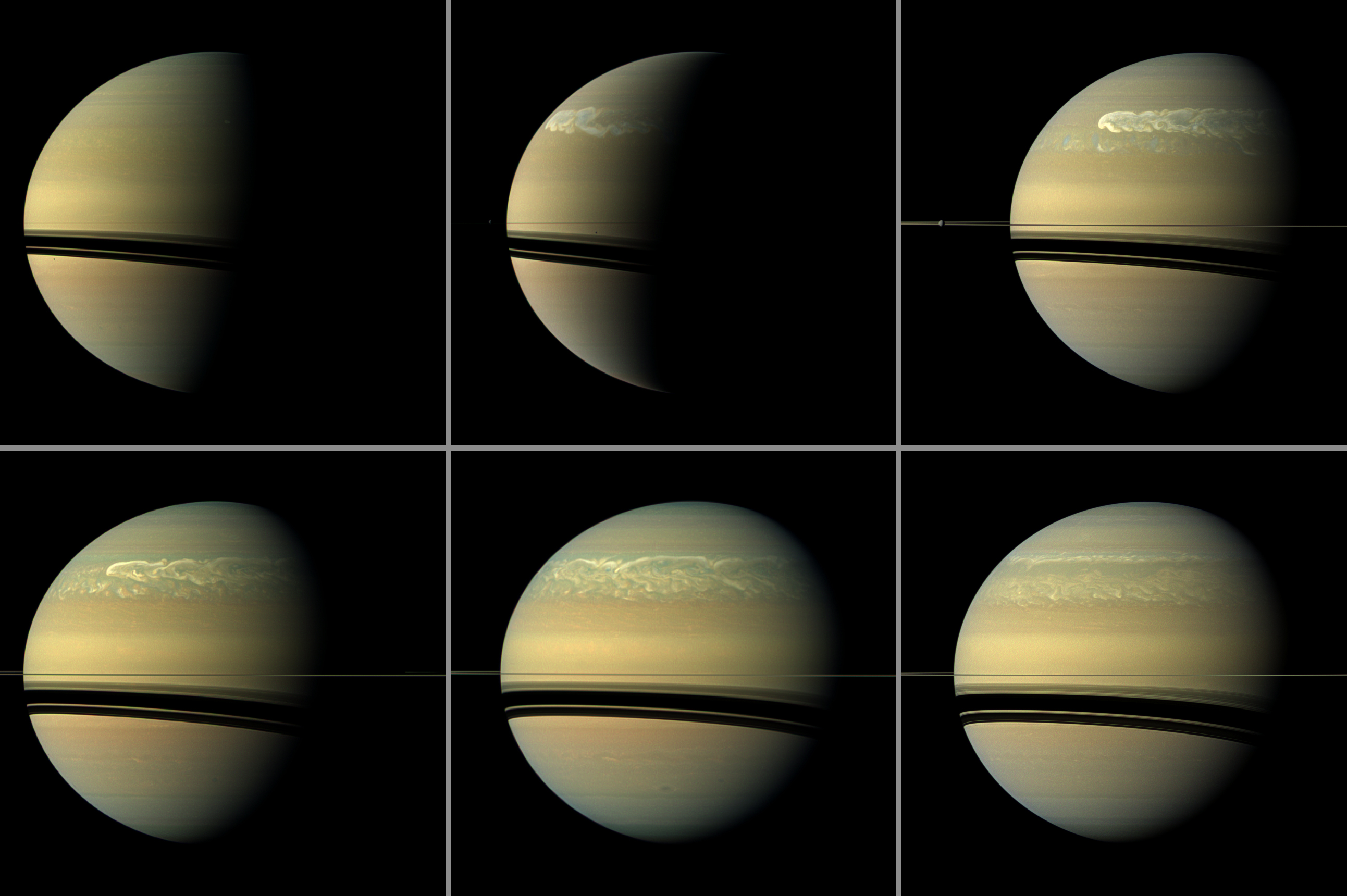 NASA-funded Study Explains Saturn's Epic Tantrums | NASA