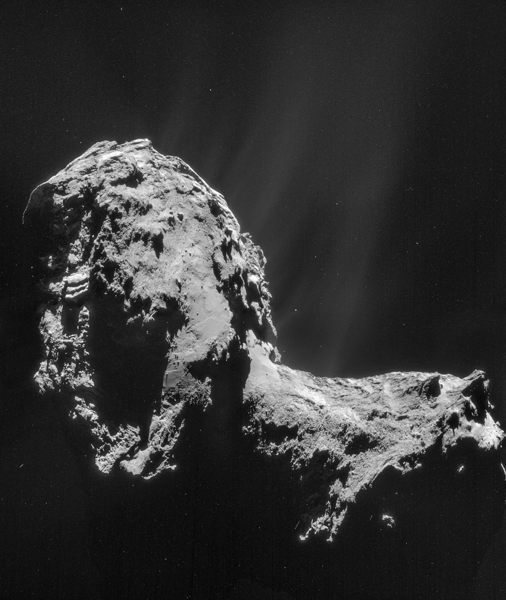 Rosetta  rendezvous with a comet