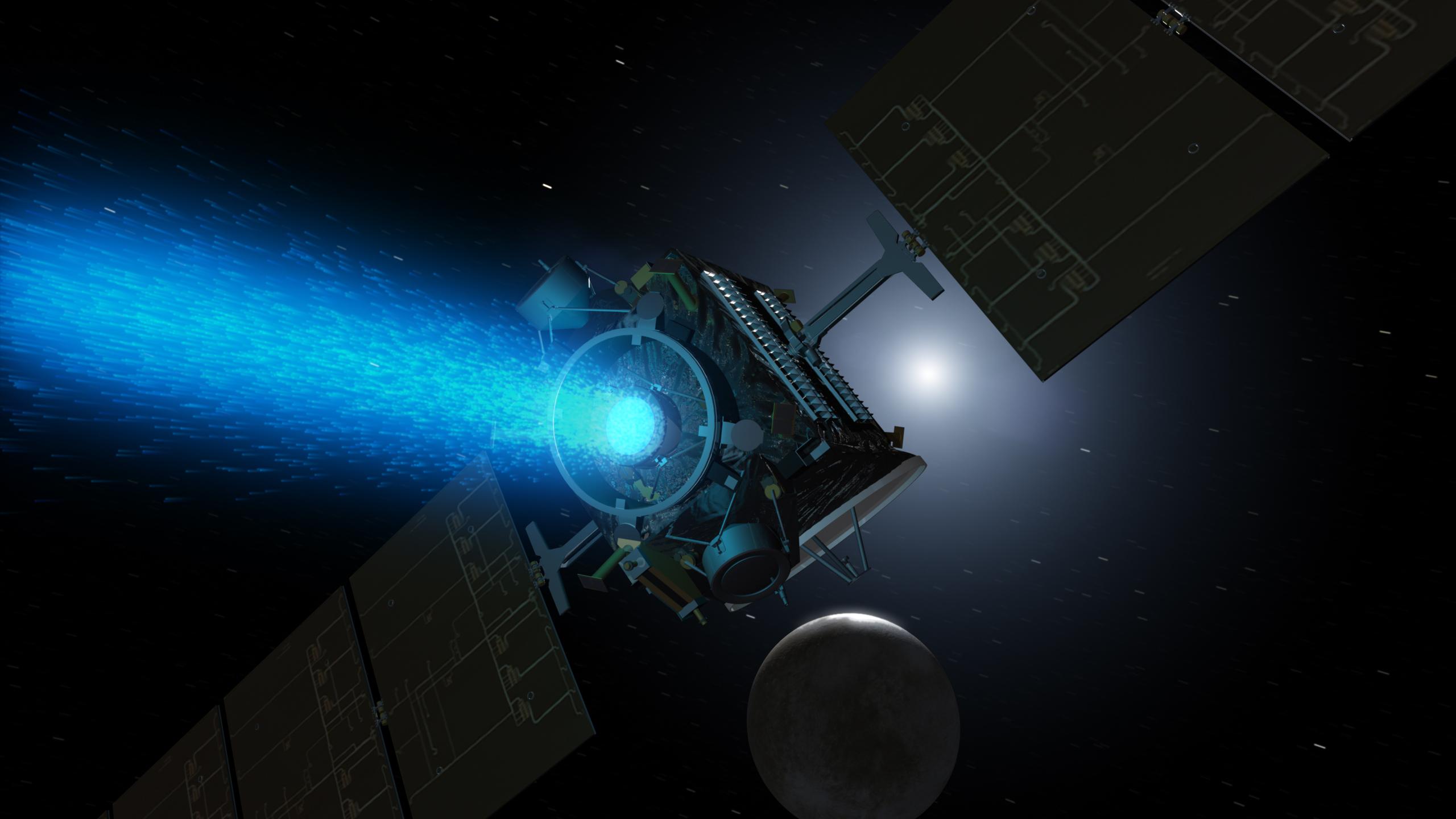 Gjate misionit te tij gati dhjetevjecar, misioni Dawn ka studiuar asteroidin Vesta dhe po studion planetin xhuxh Ceres, trupa qiellore qe besohet se kane kane te dhena per historine e hershme te sistemit diellor.