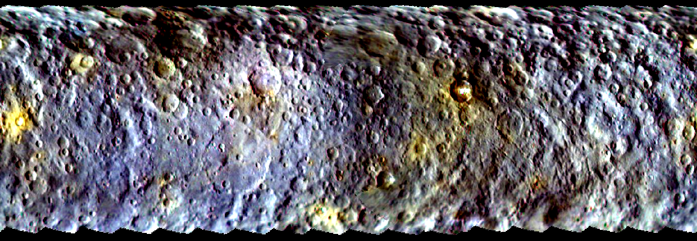 Dawn's Ceres Color Map Reveals Surface Diversity | NASA