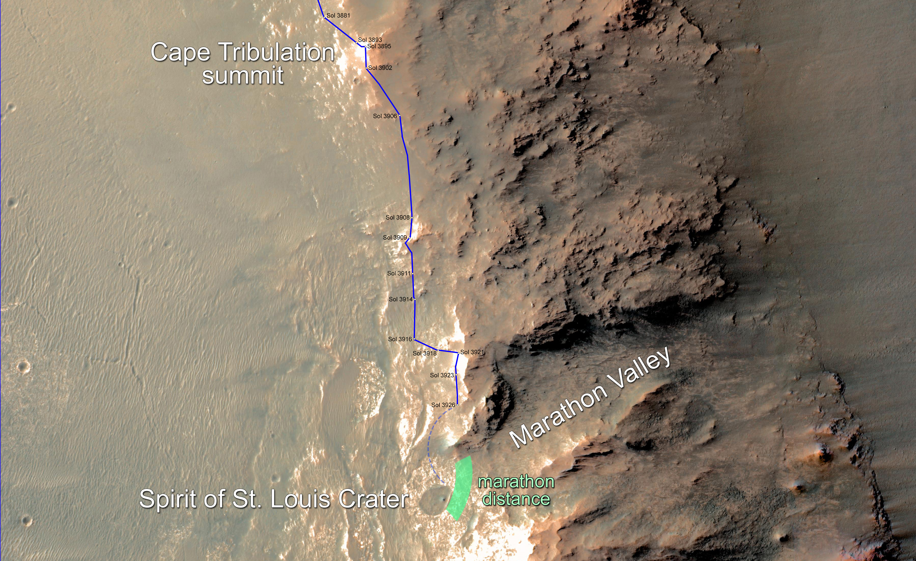 mars rover opportunity current location - photo #5