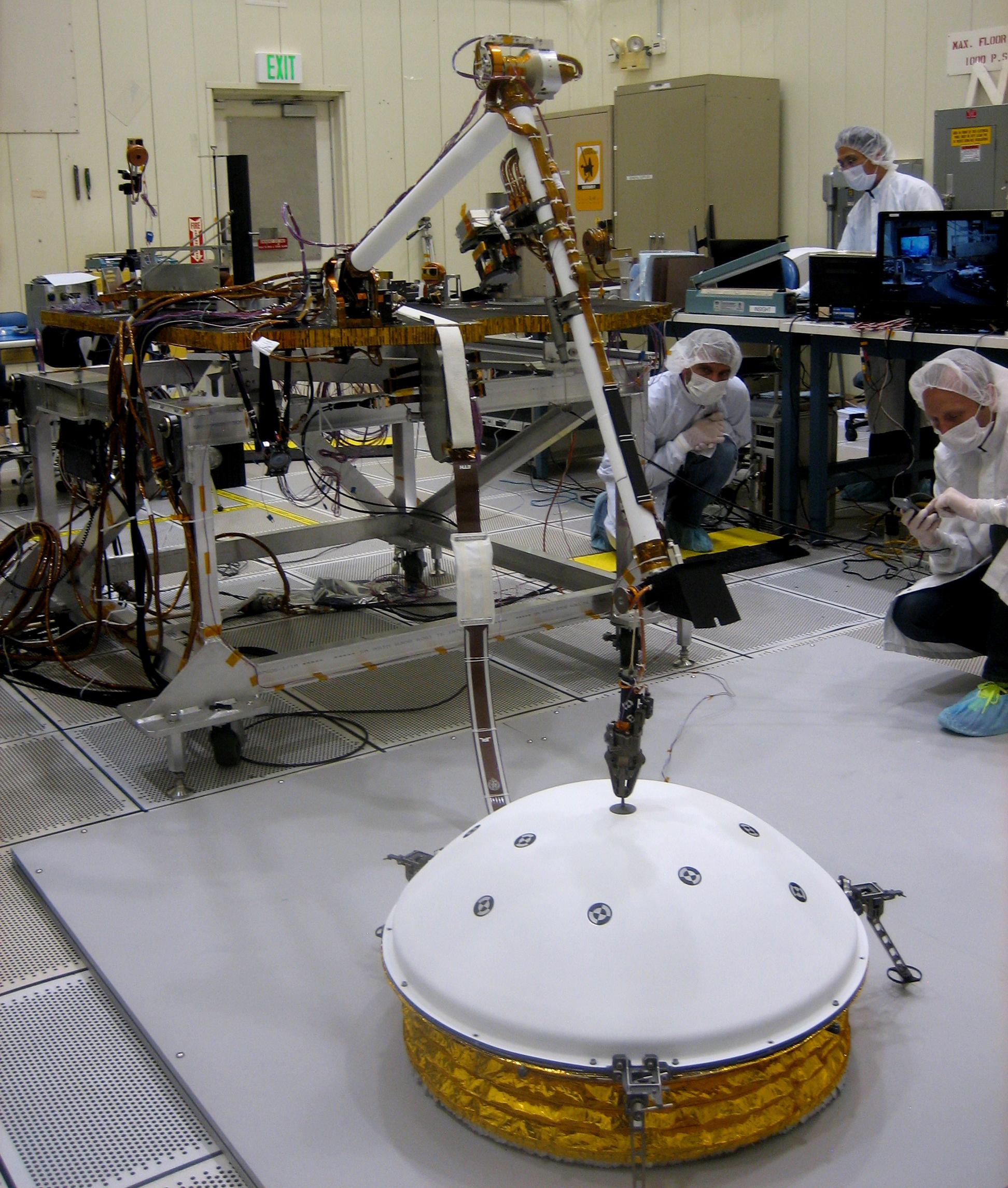Single Site on Mars Advanced for 2016 NASA Lander