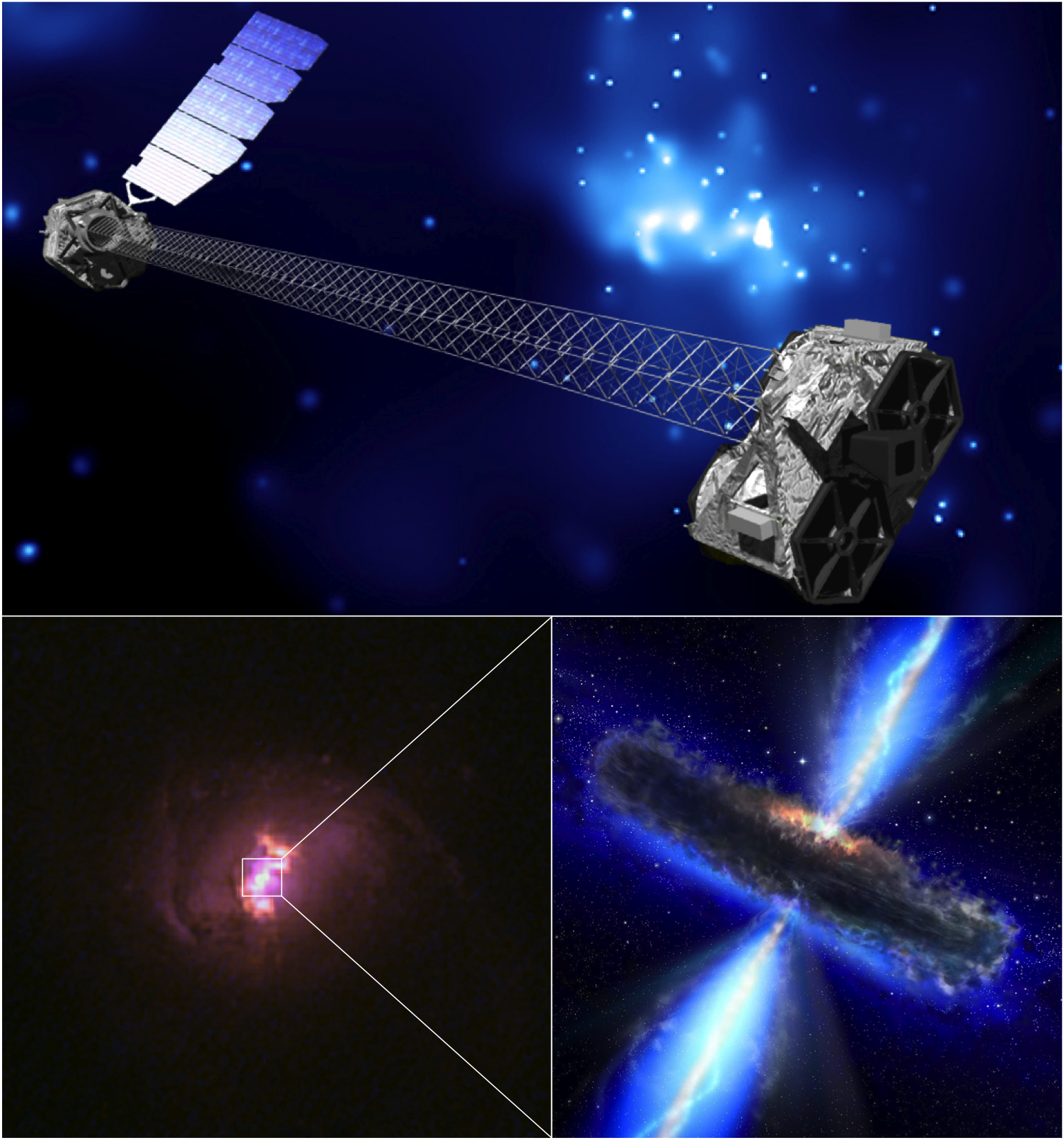 NuSTAR Stares Deep into Hidden Lairs of Black Holes