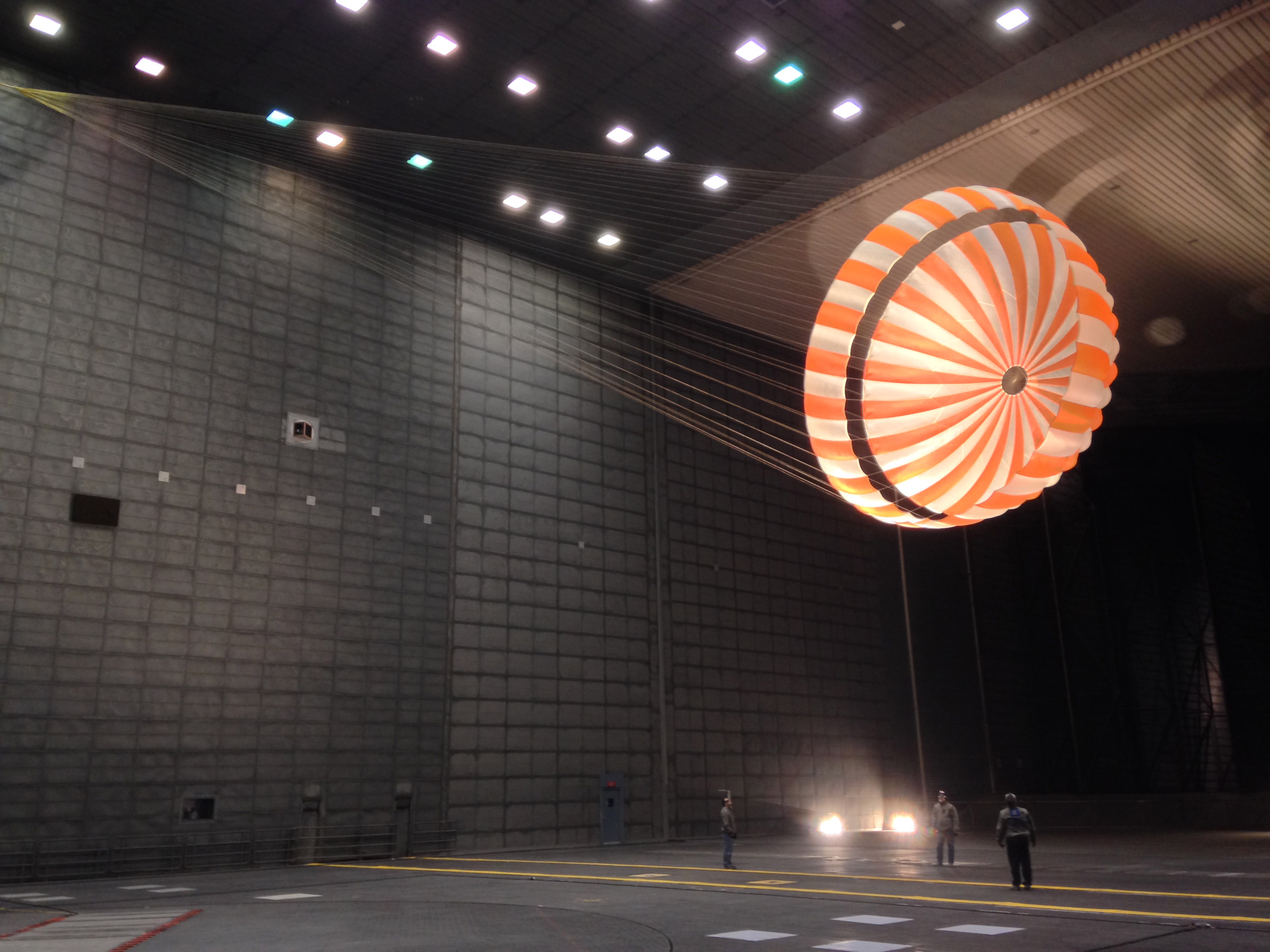name of nasa parachute - photo #4