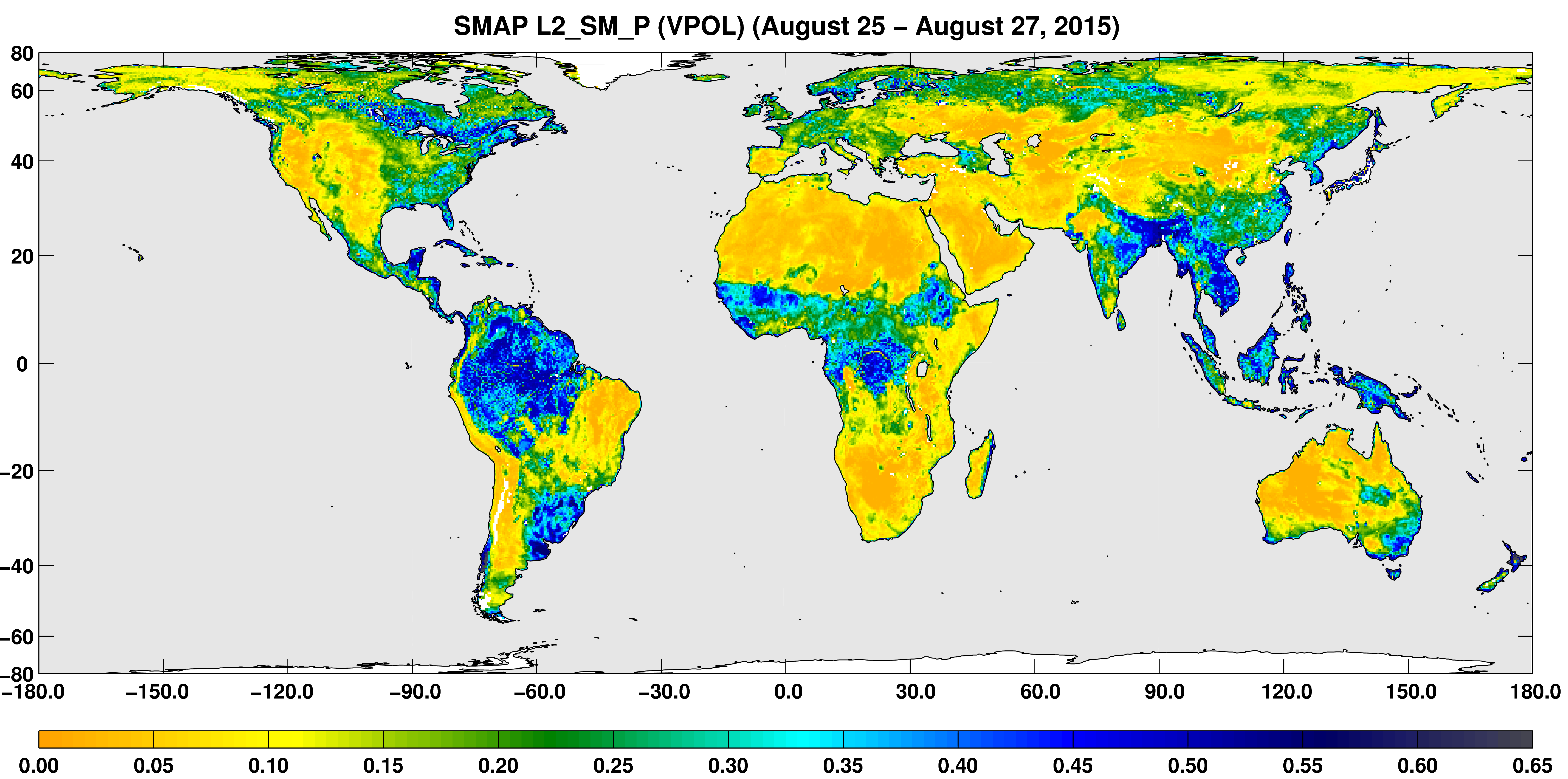 NASA Soil Moisture Radar Ends Operations Mission Science - 10 day weather map of western us