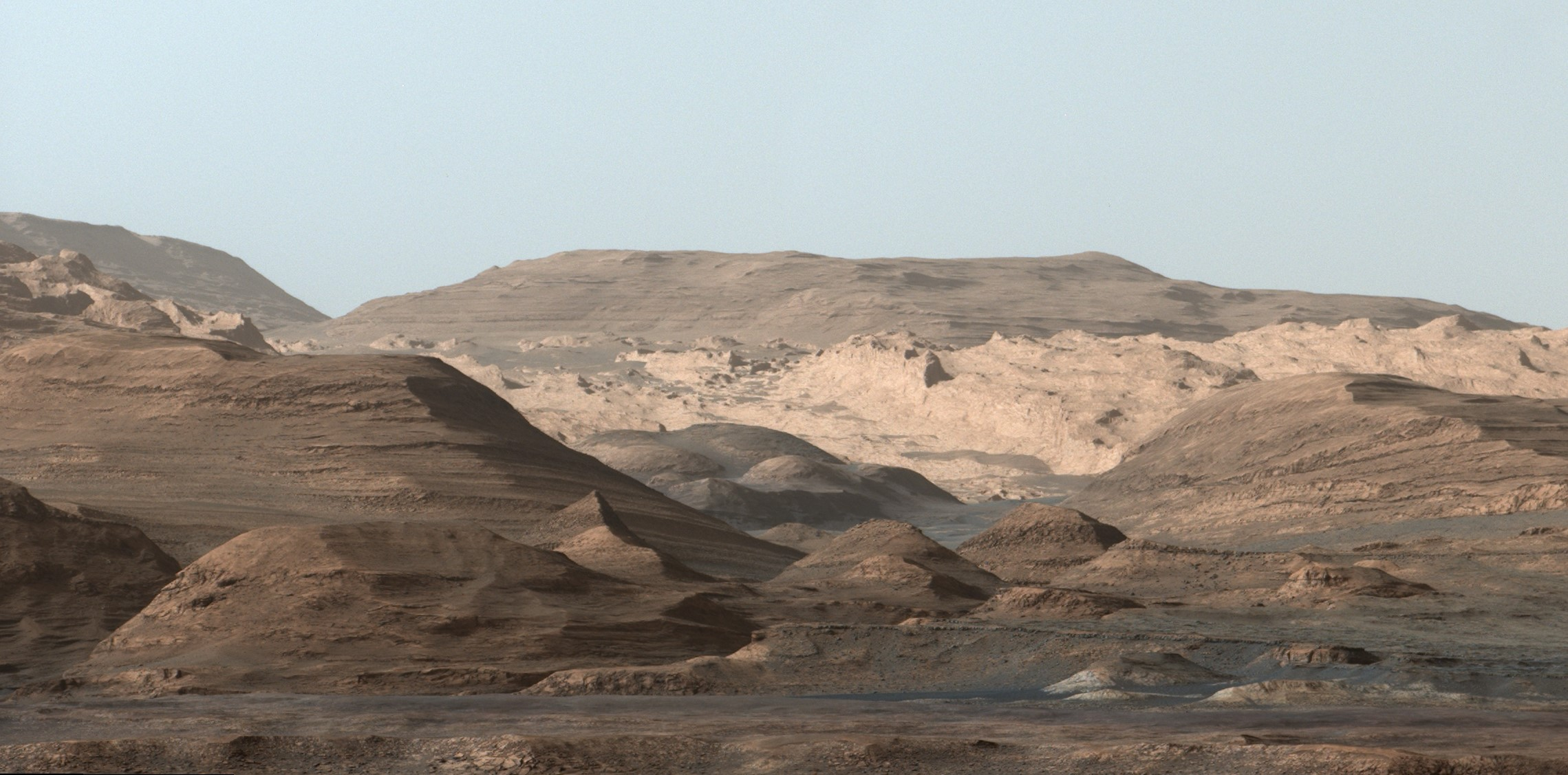 path curiosity rover gale crater - photo #29