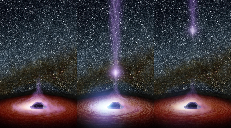 The anatomy of a black hole flare nasa the anatomy of a black hole flare pooptronica Image collections