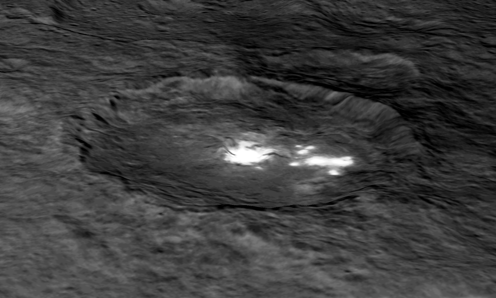 New Clues To Ceres Bright Spots And Origins
