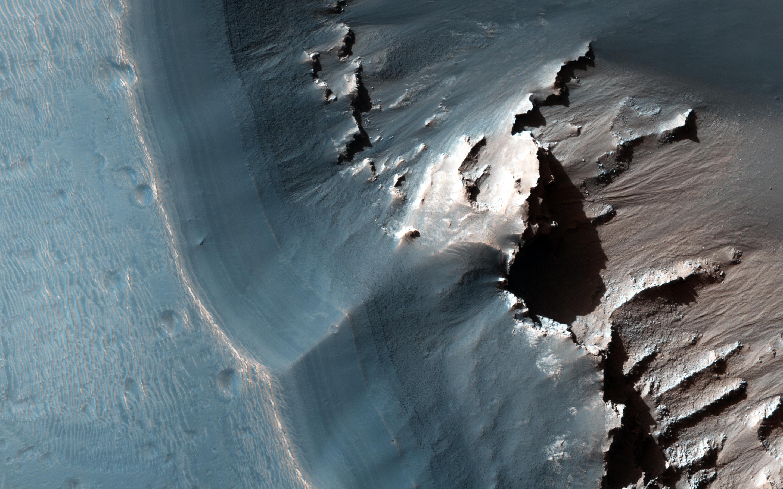 Martian Morse Code NASA