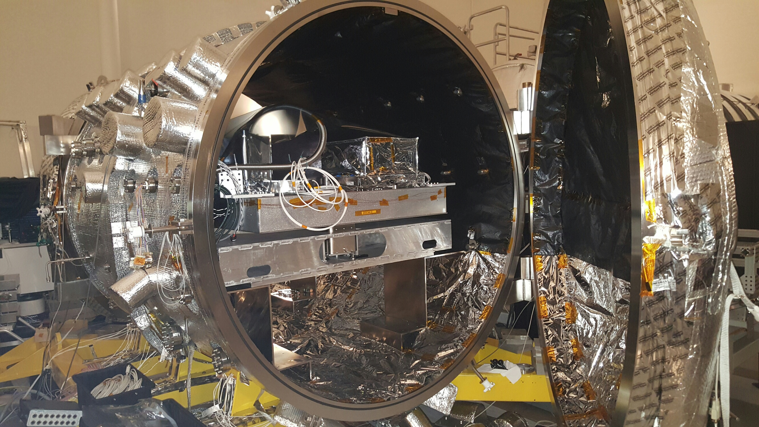 The Vacuum Chamber At NASAs Jet Propulsion Laboratory