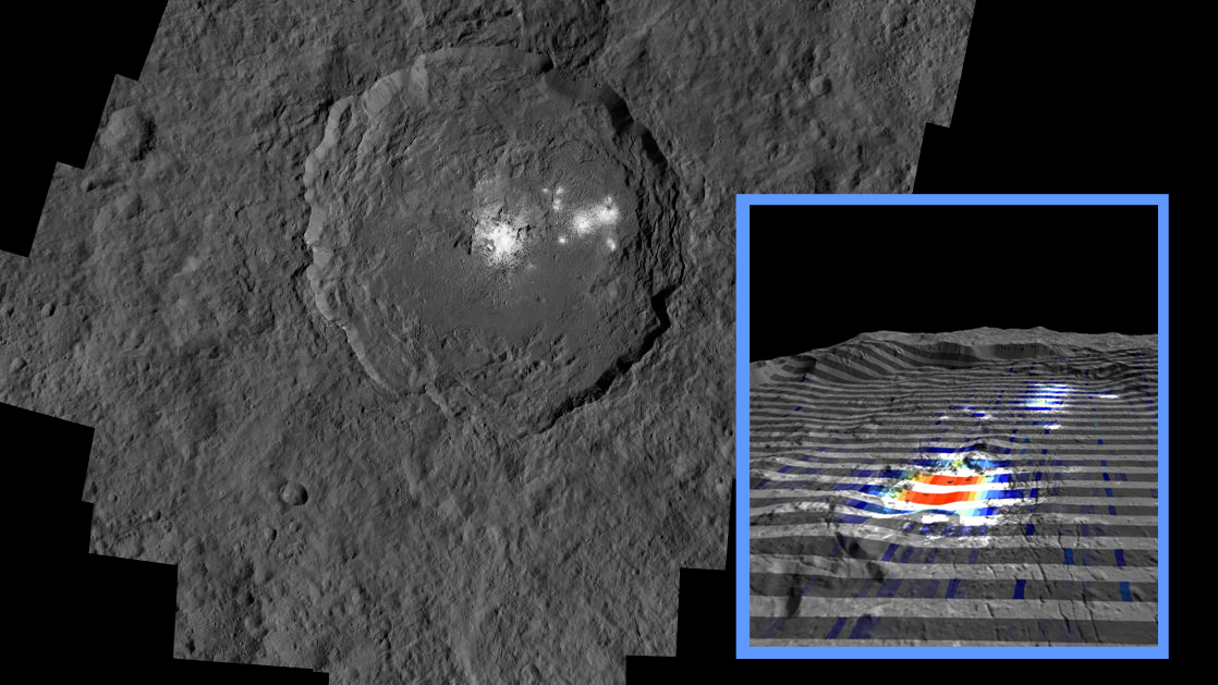 Recent Hydrothermal Activity May Explain Ceres' Brightest Area | NASA