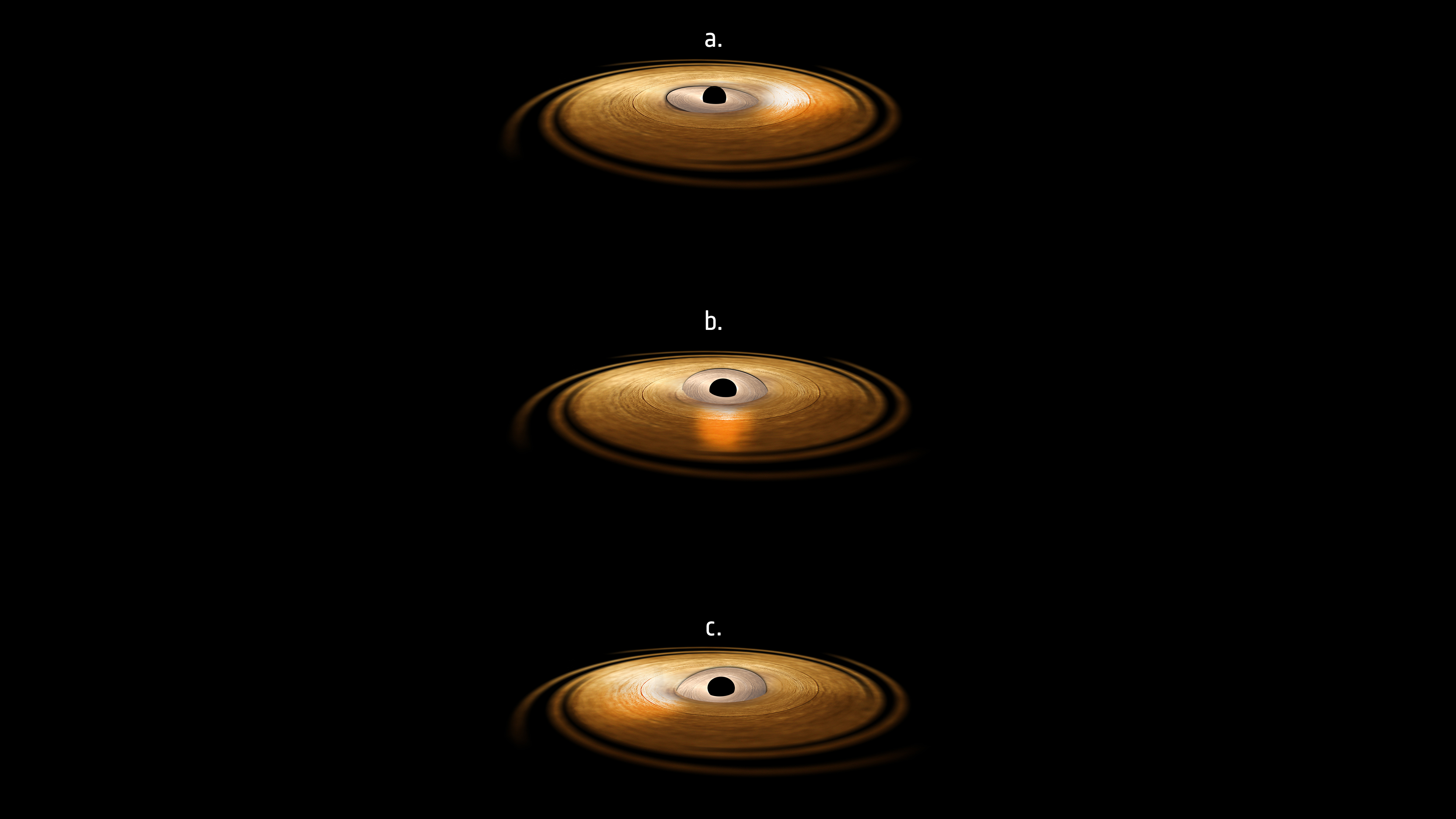 how to make a black hole model at home