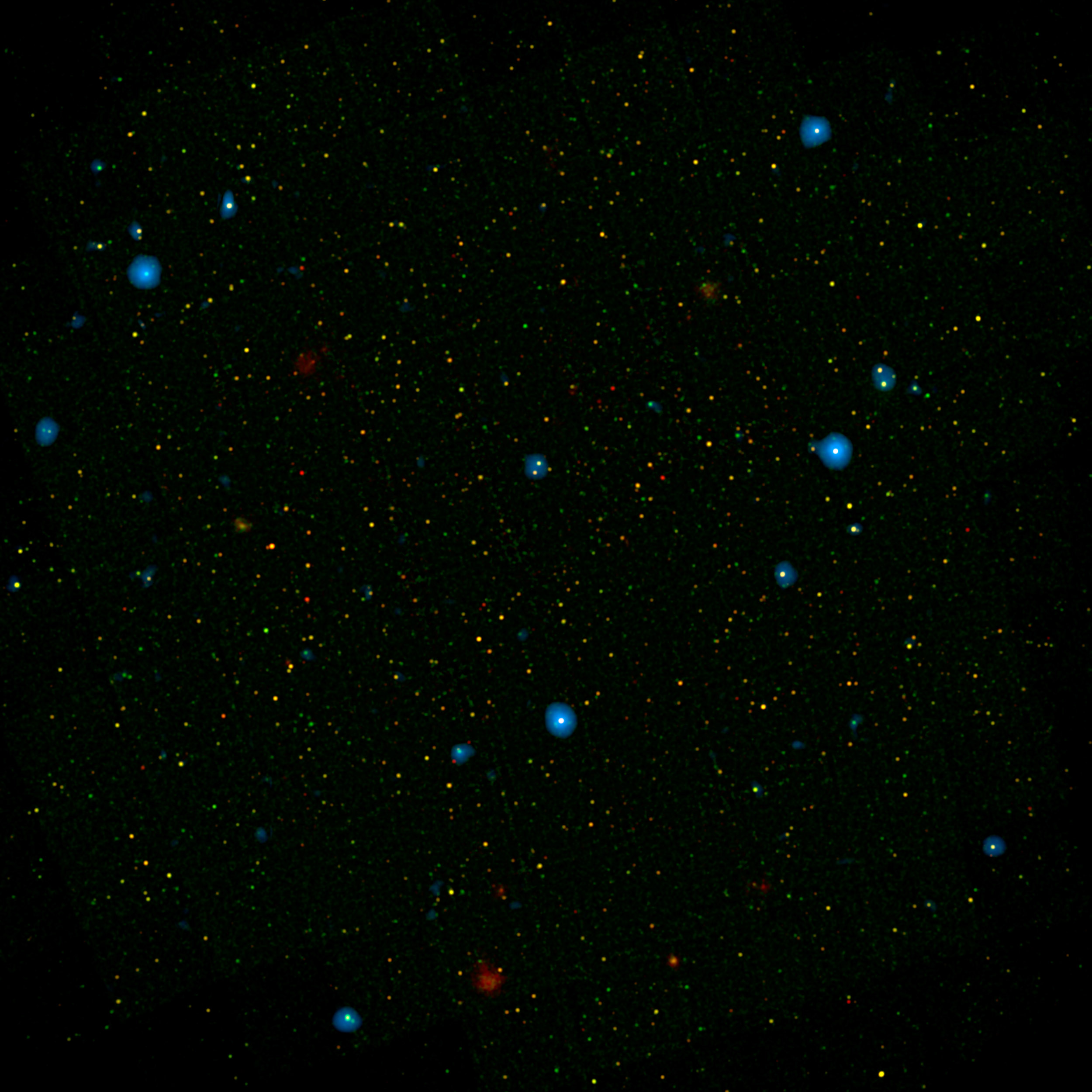 black holes monsters in space nasa the blue dots in this field of galaxies known as the cosmos field show galaxies that contain supermassive black holes emitting high energy x rays