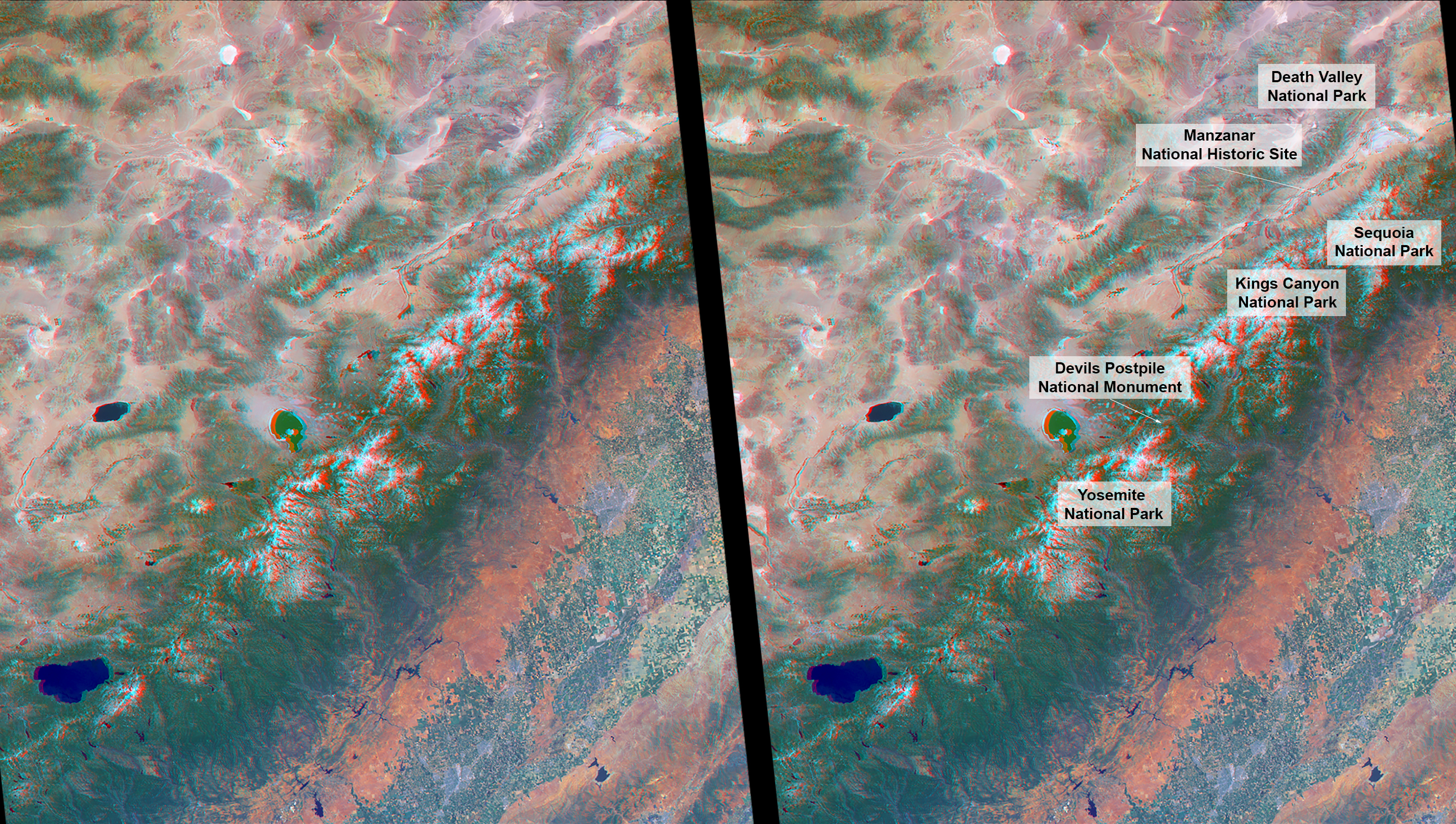 NASAs MISR Views Americas National Parks in 3D  NASA