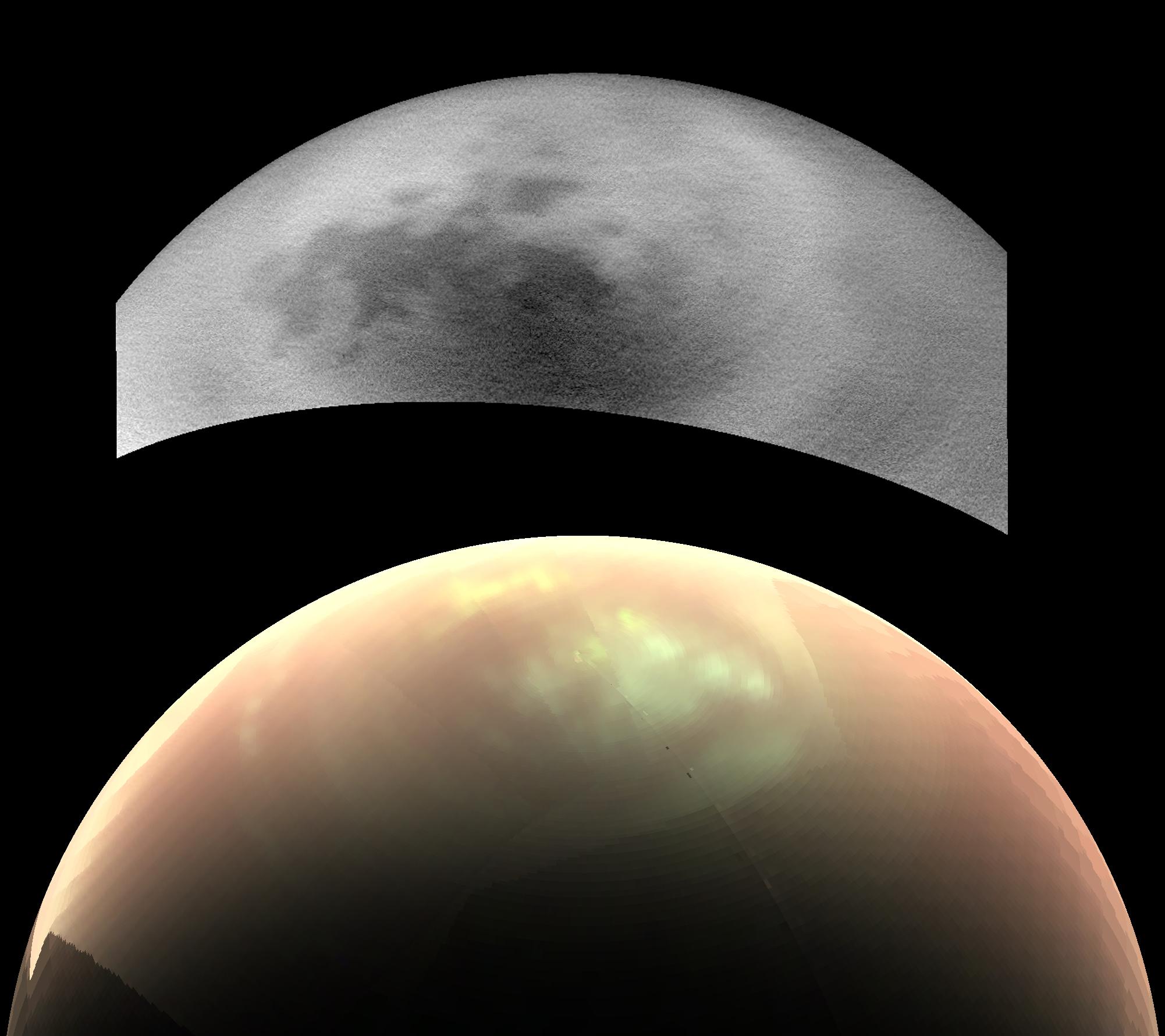Risultati immagini per titan's mystery cloud