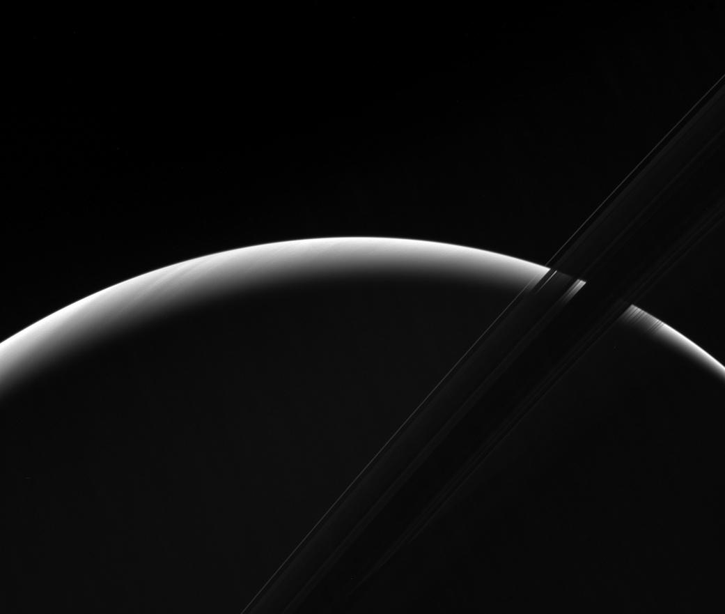 nasa.gov - Saturnian Dawn