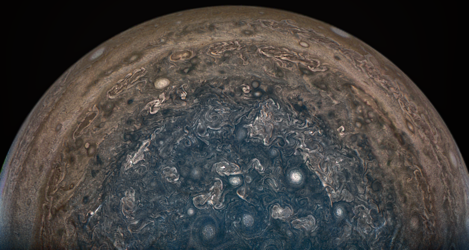 juno spacecraft to carry three figurines to jupiter nasa jovian stormy weather