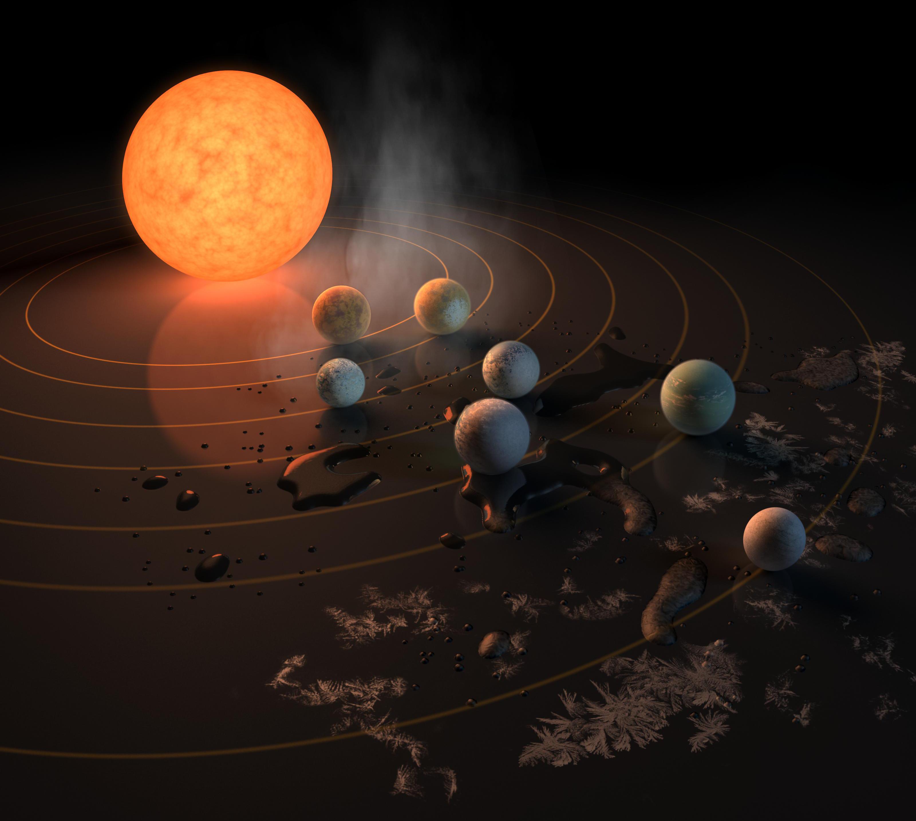 Artistu0027s Concept Of Exoplanets