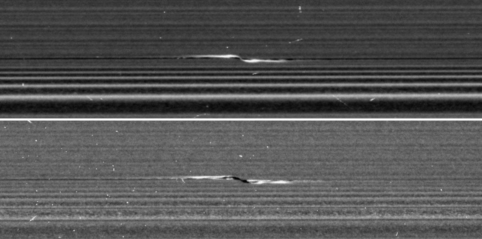 Cassini Science Ring Propellors The Solstice Blog