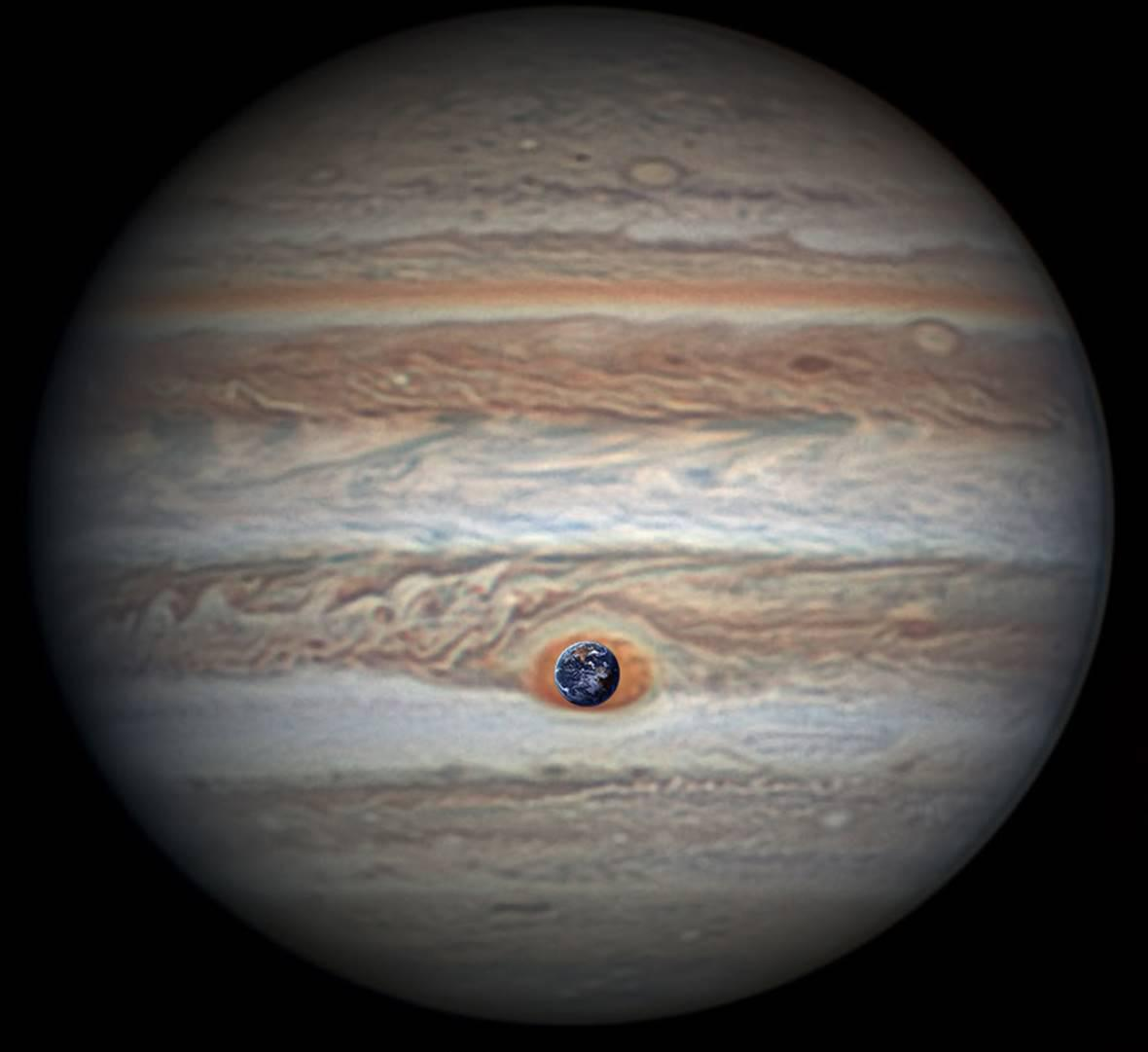 jupiter u0027s north pole unlike anything encountered in solar system