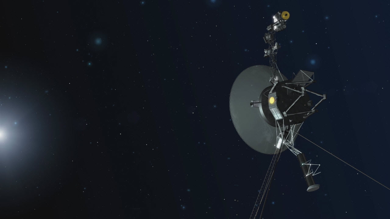 Voyager 2 on SPACE
