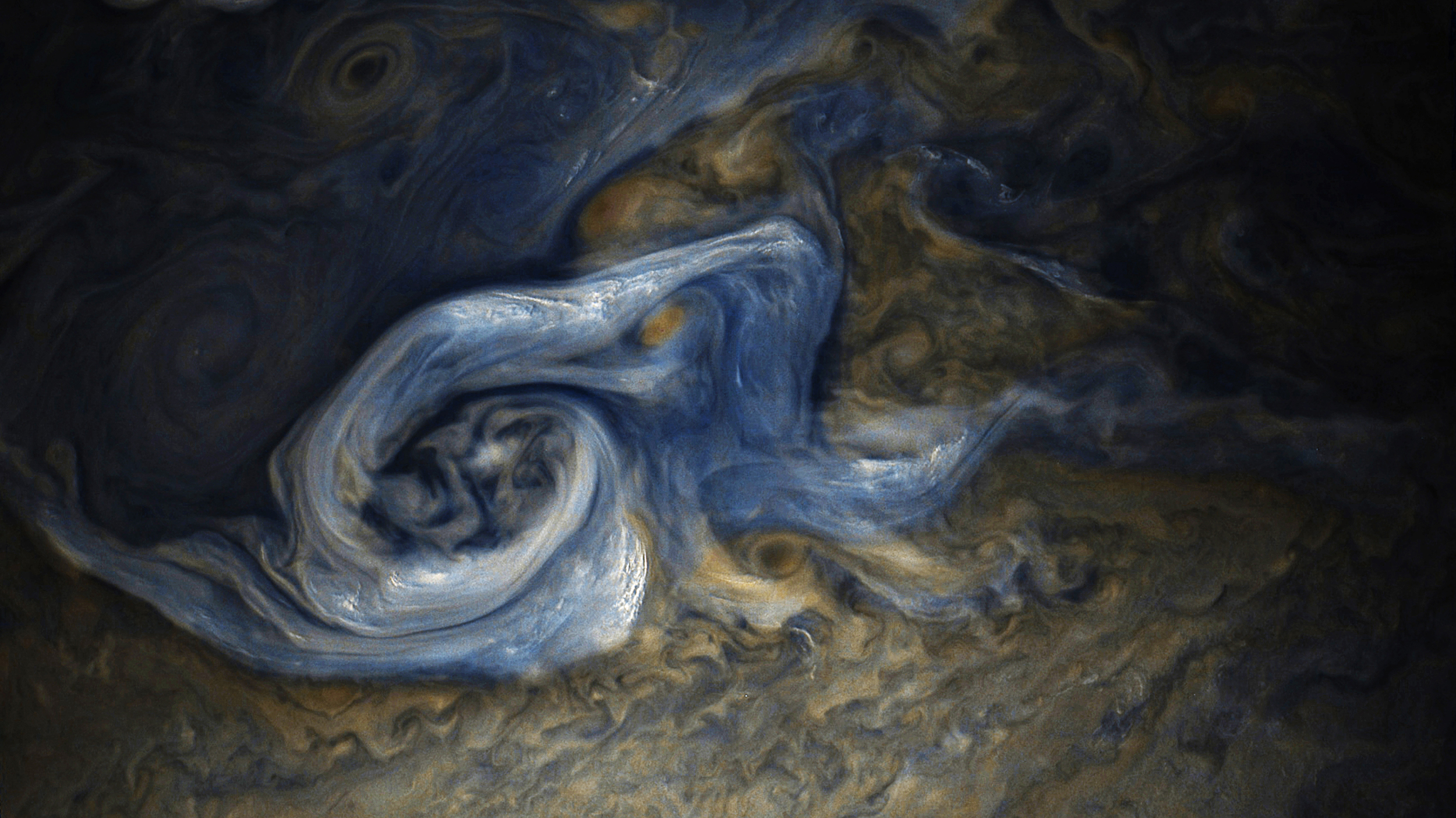 NASA shot of a Jupiter storm and info on how to get their RAW files