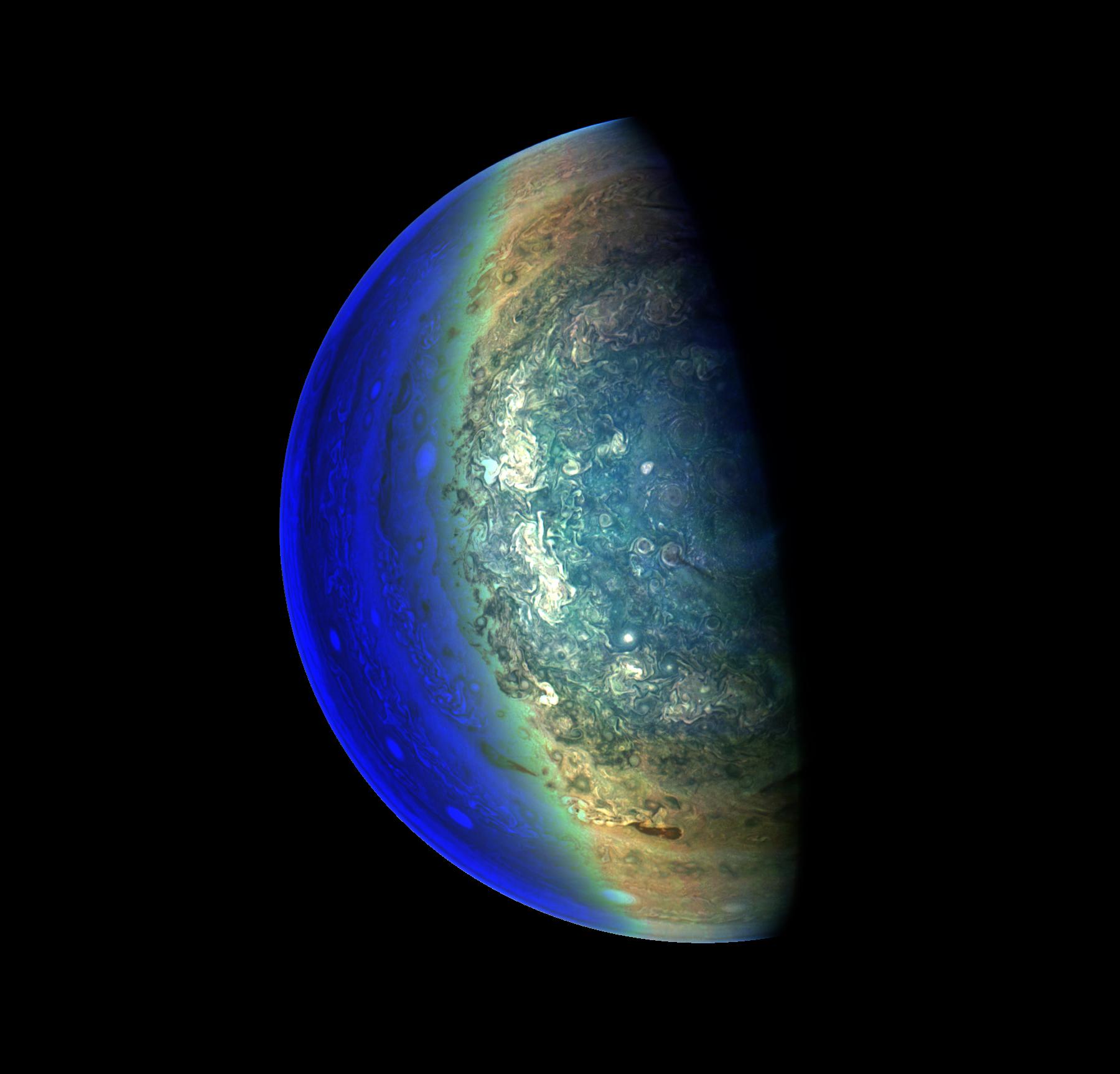 Jovian 'Twilight Zone'