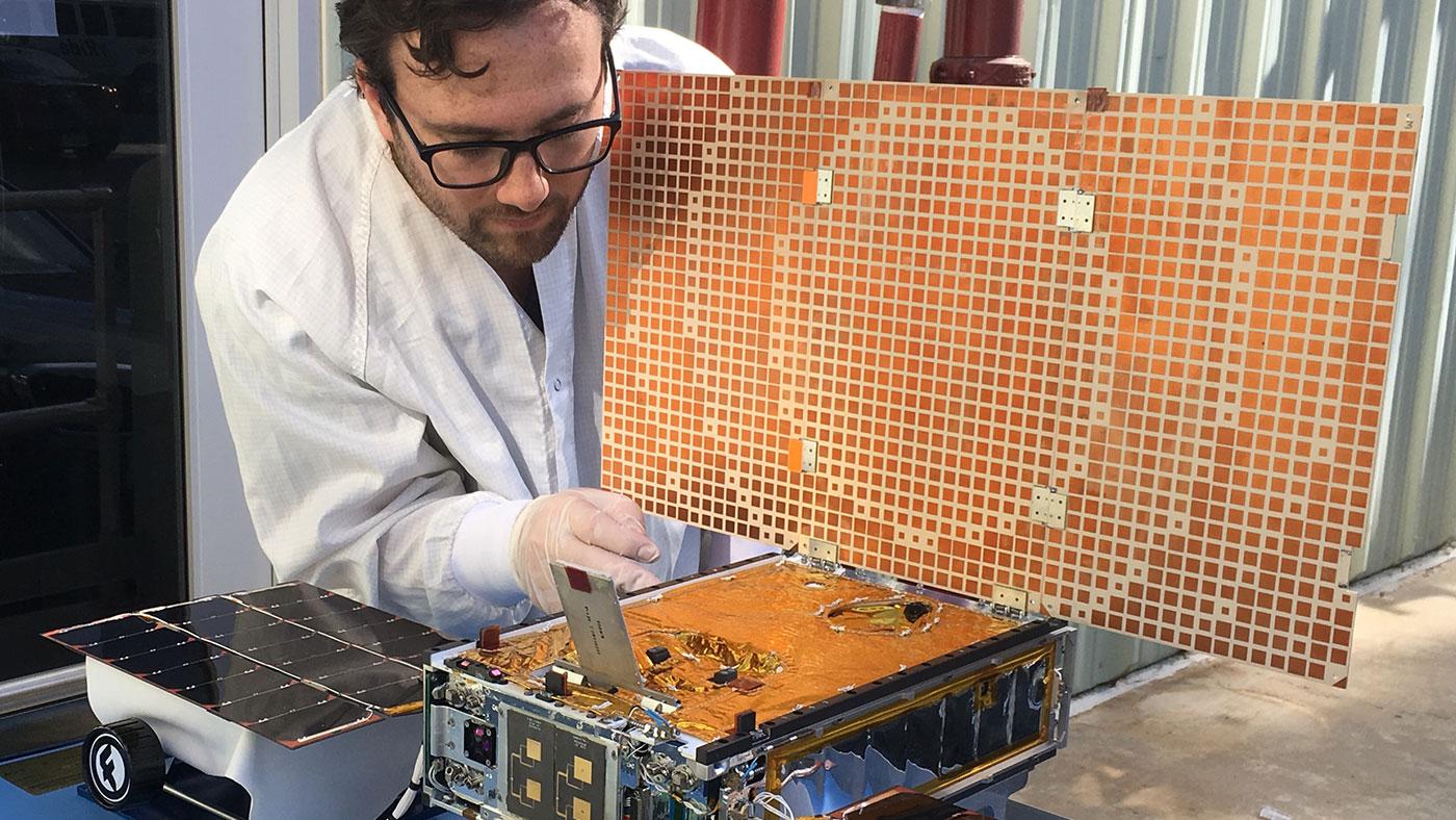 NASA Engineers Dream Big with Small Spacecraft | NASA