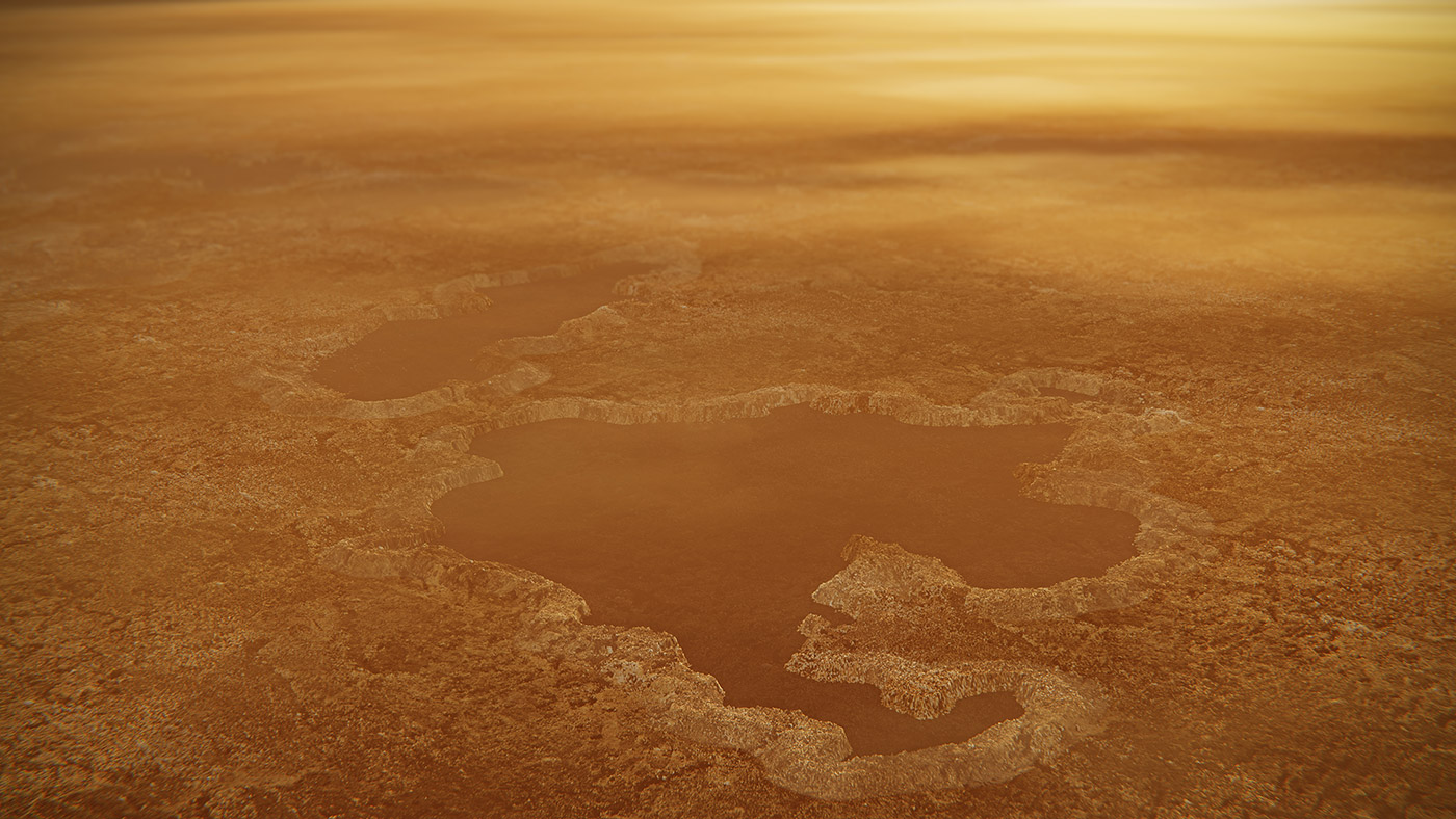 New Models Suggest Titan Lakes Are Explosion Craters | NASA