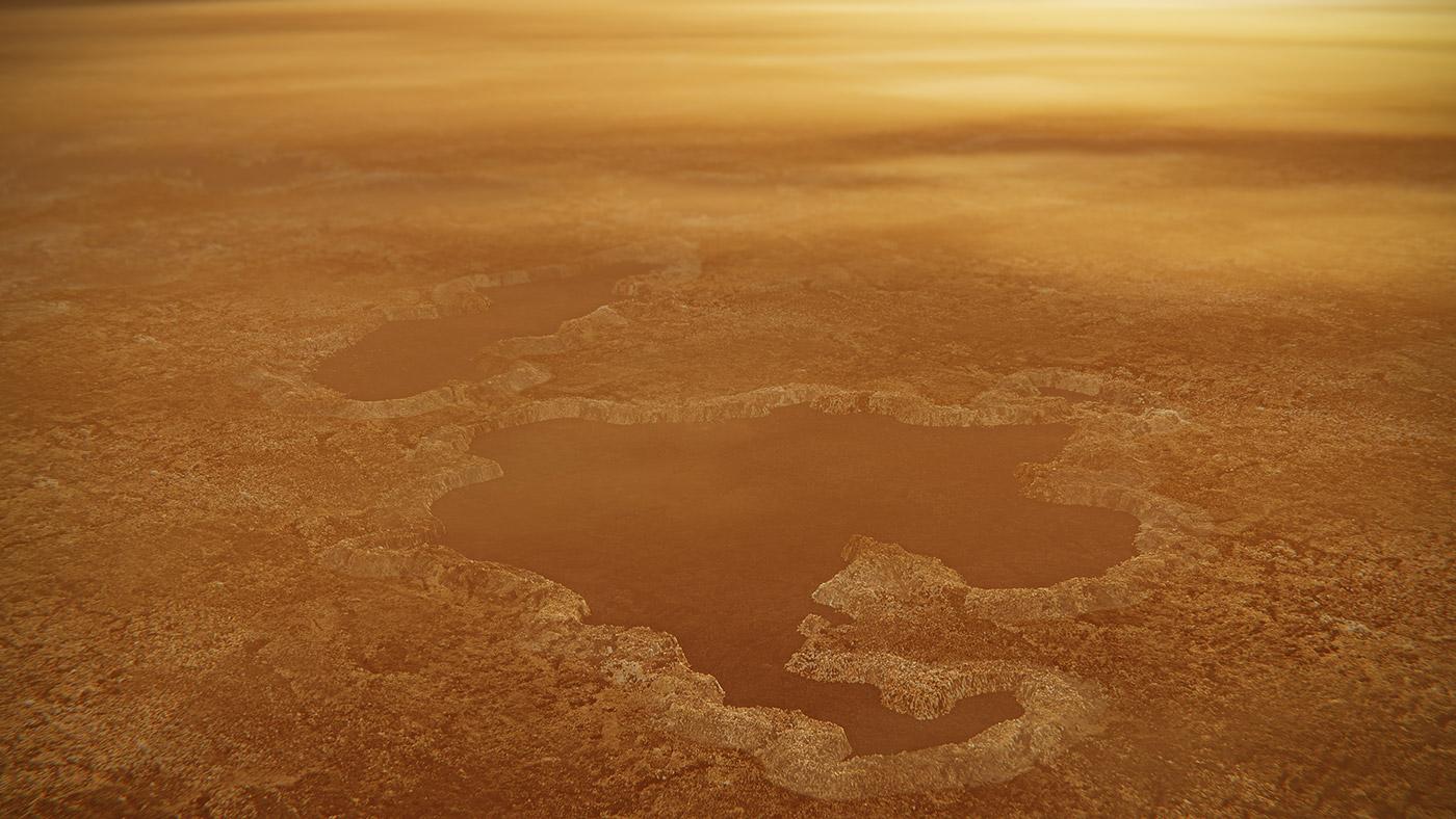 دریاچههای تیتان دستاورد انفجارهای زیرسطحی هستند
