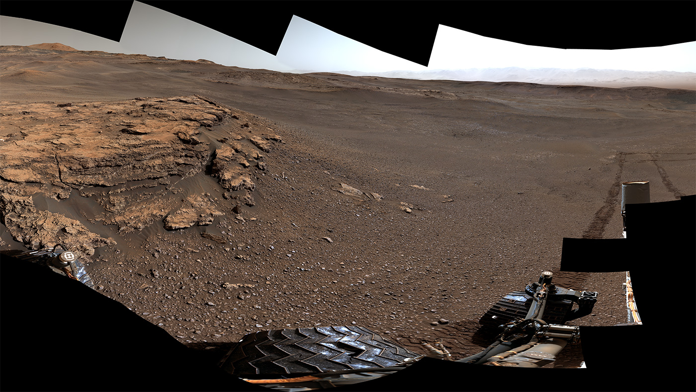 Seven Years After Landing, Curiosity Rover is Still Rock N' Rolling
