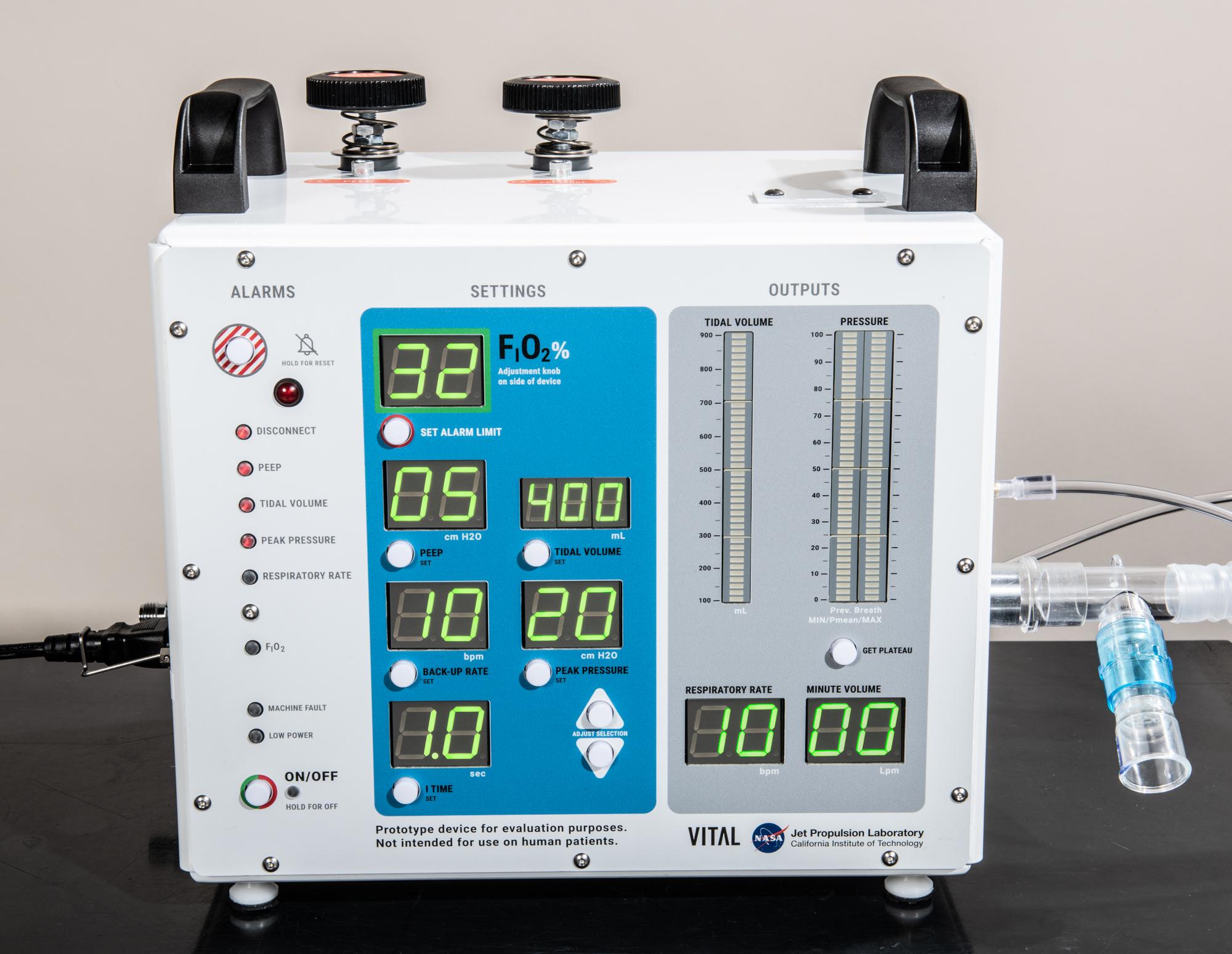 NASA-Developed Ventilator Authorized by FDA for Emergency Use | NASA