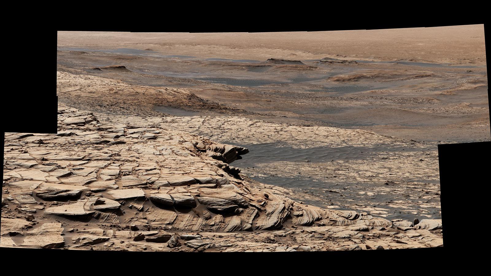 Curiosity Mars Rover's Summer Road Trip Has Begun