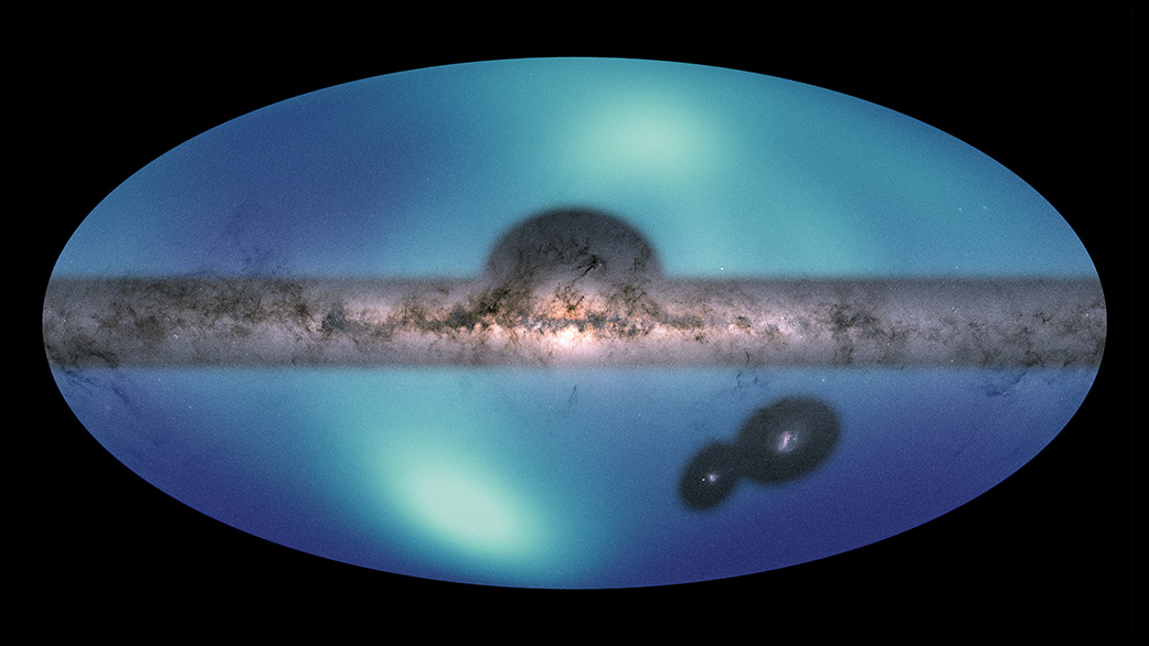 Astronomers Release New All-Sky Map of Milky Way's Outer Reaches - NASA