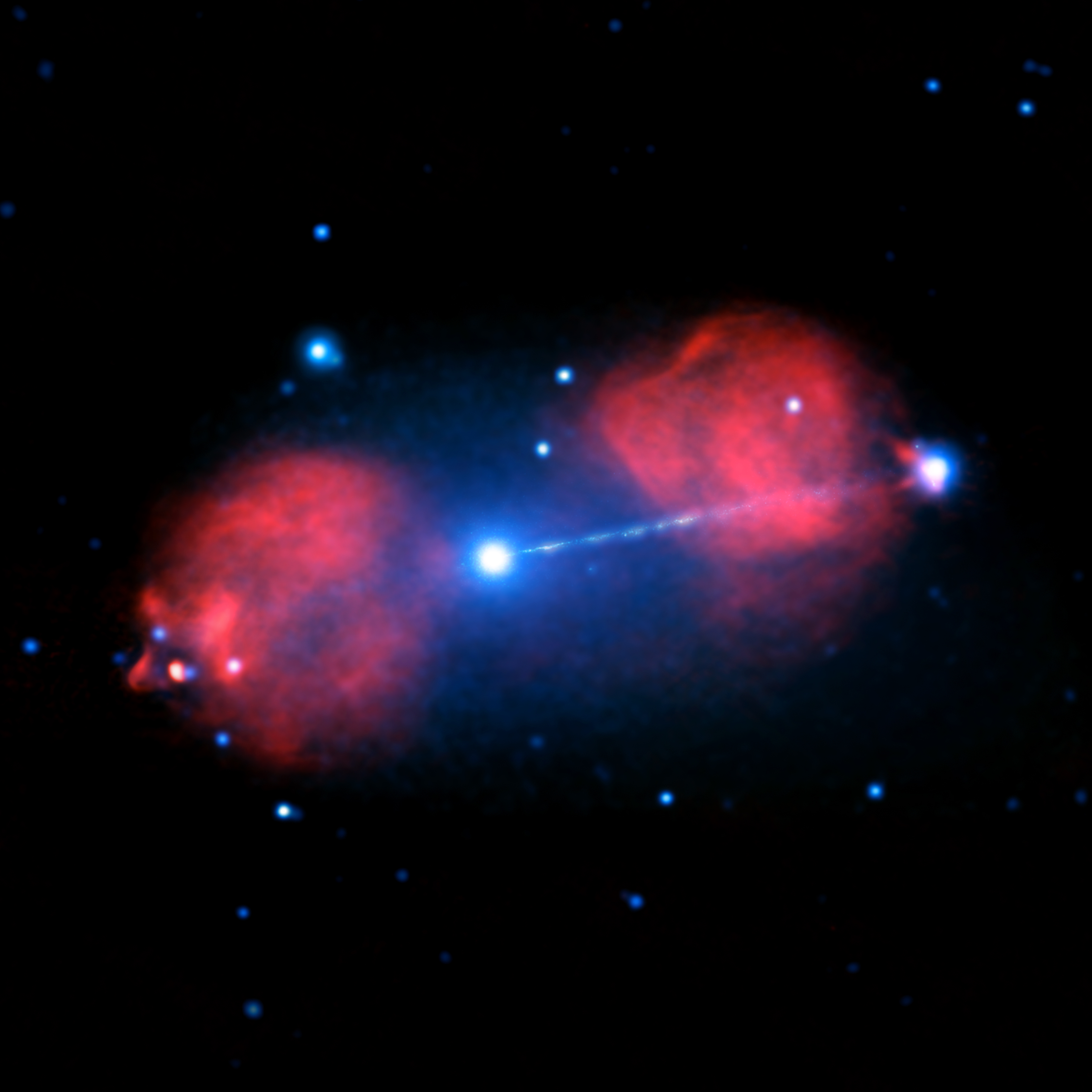 Blast From Black Hole in a Galaxy Far, Far Away | NASA