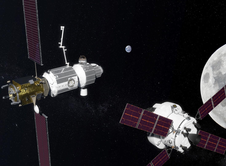 NASA přiblížila následující vývoj kolem orbitální stanice u Měsíce