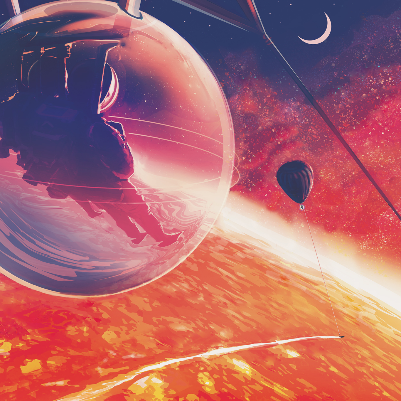 Exoplanet Planet NASA Astronomy HD POSTER