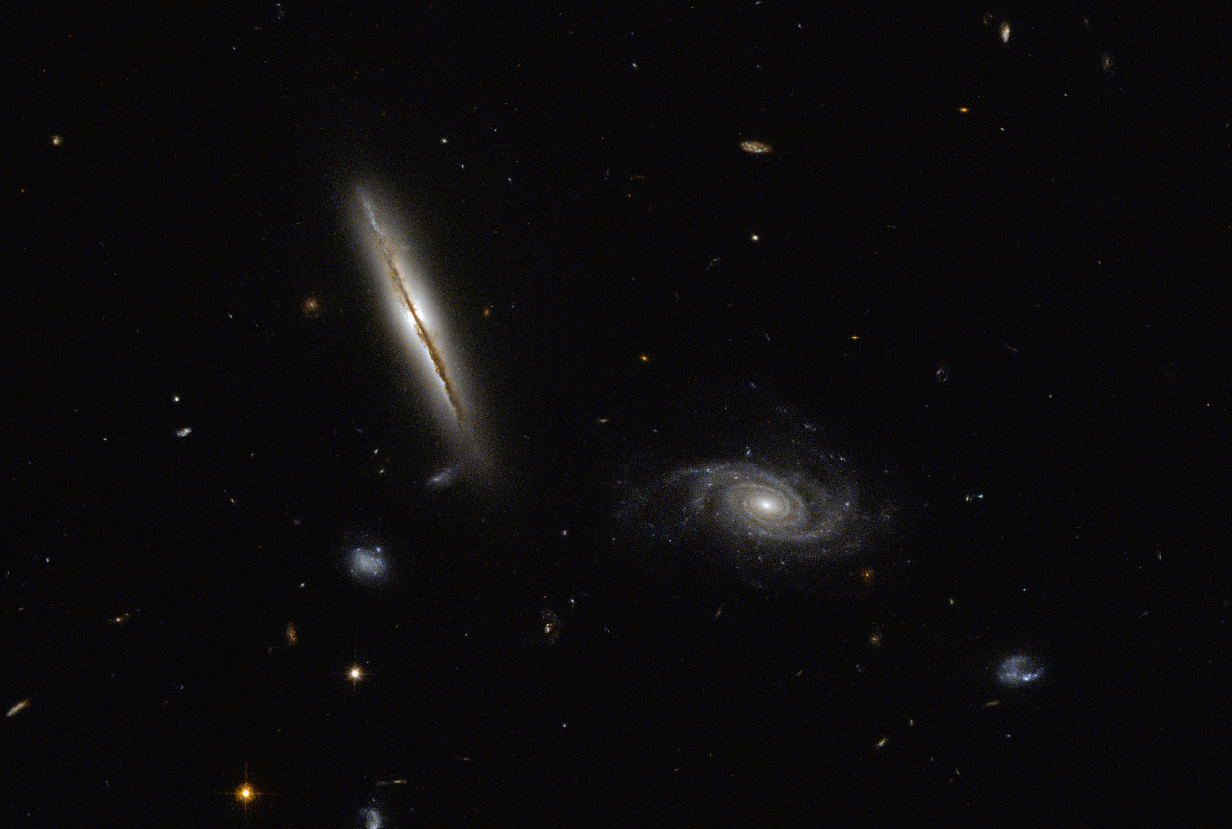 Hubble Finds Misbehaving Spiral Nasa