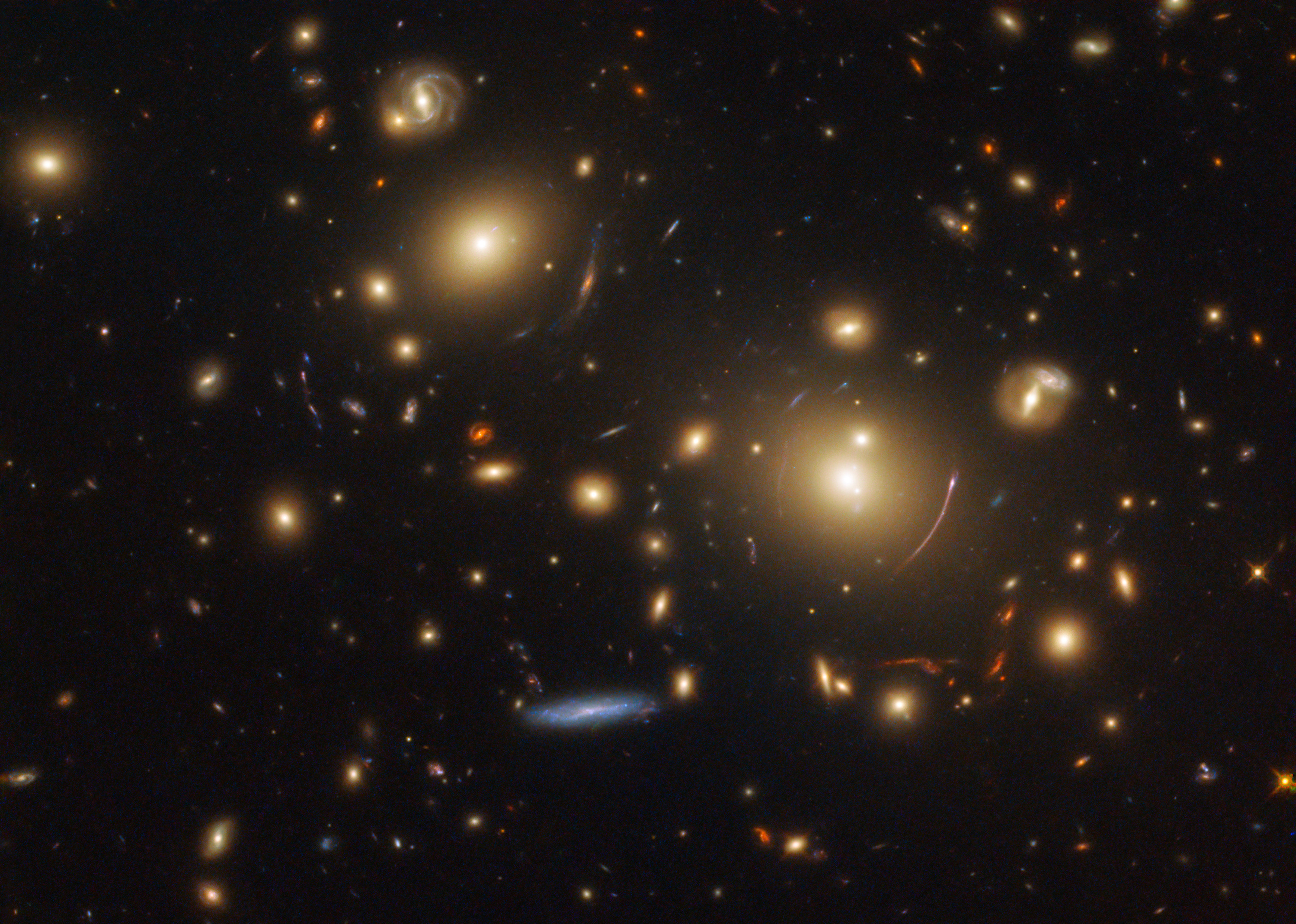 Hubble Peers into the Vast Distance