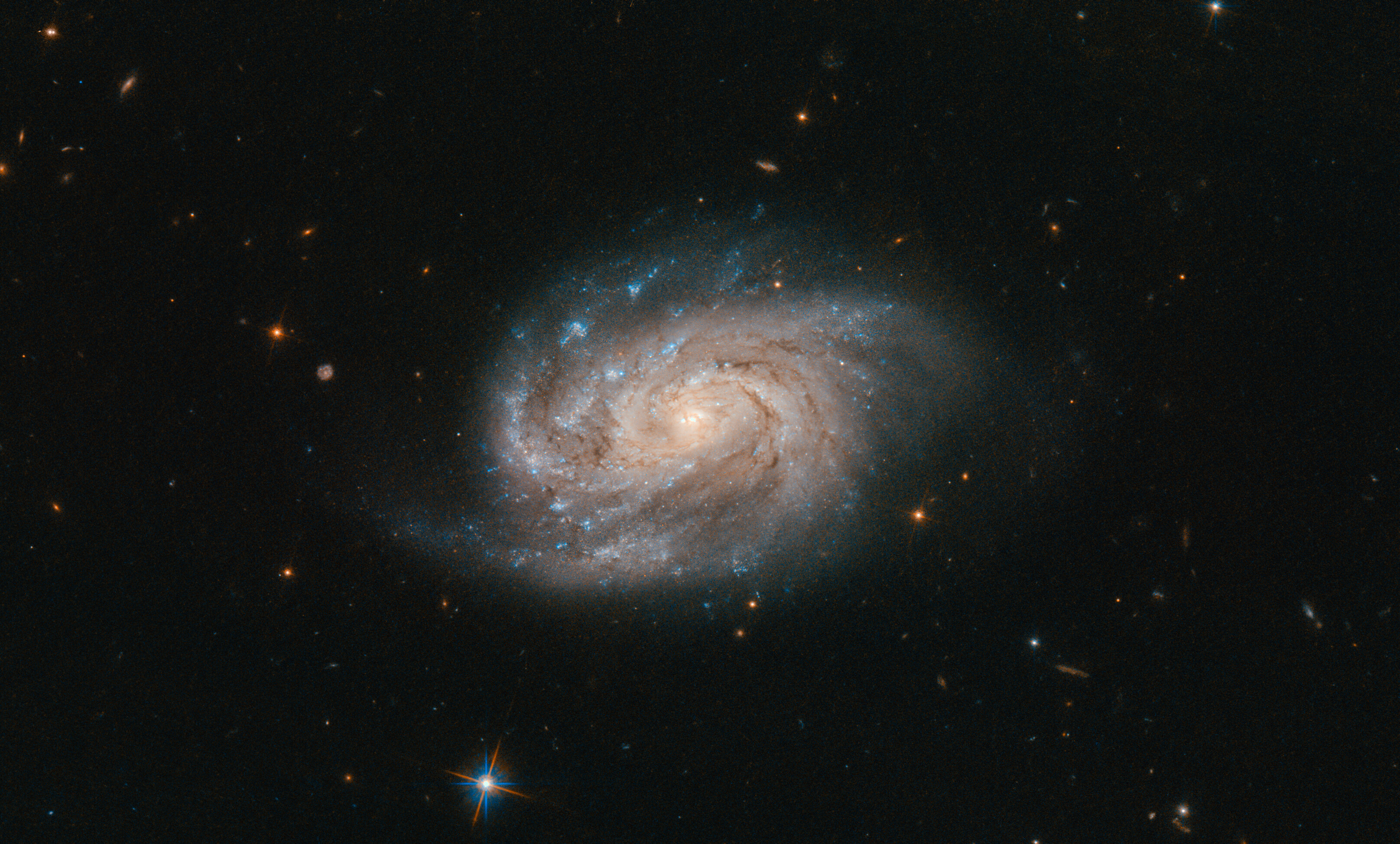 Hubble Views Galaxy From Famous Catalog