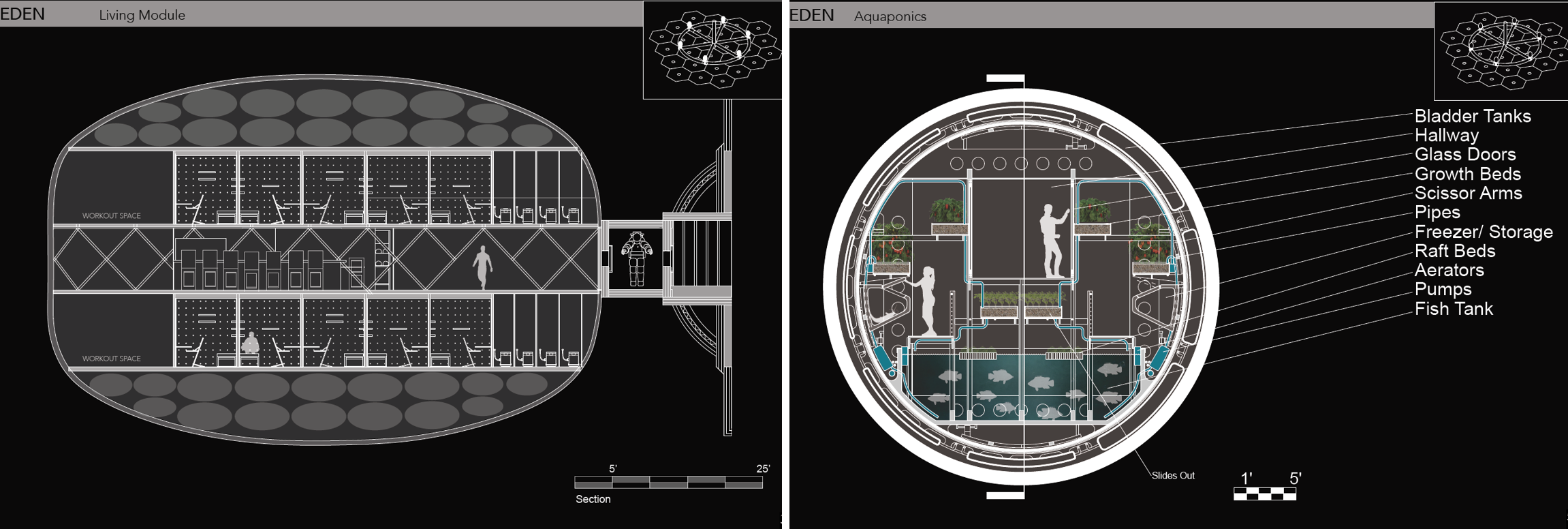 Students Design Space Habitat Concepts for Mars   NASA