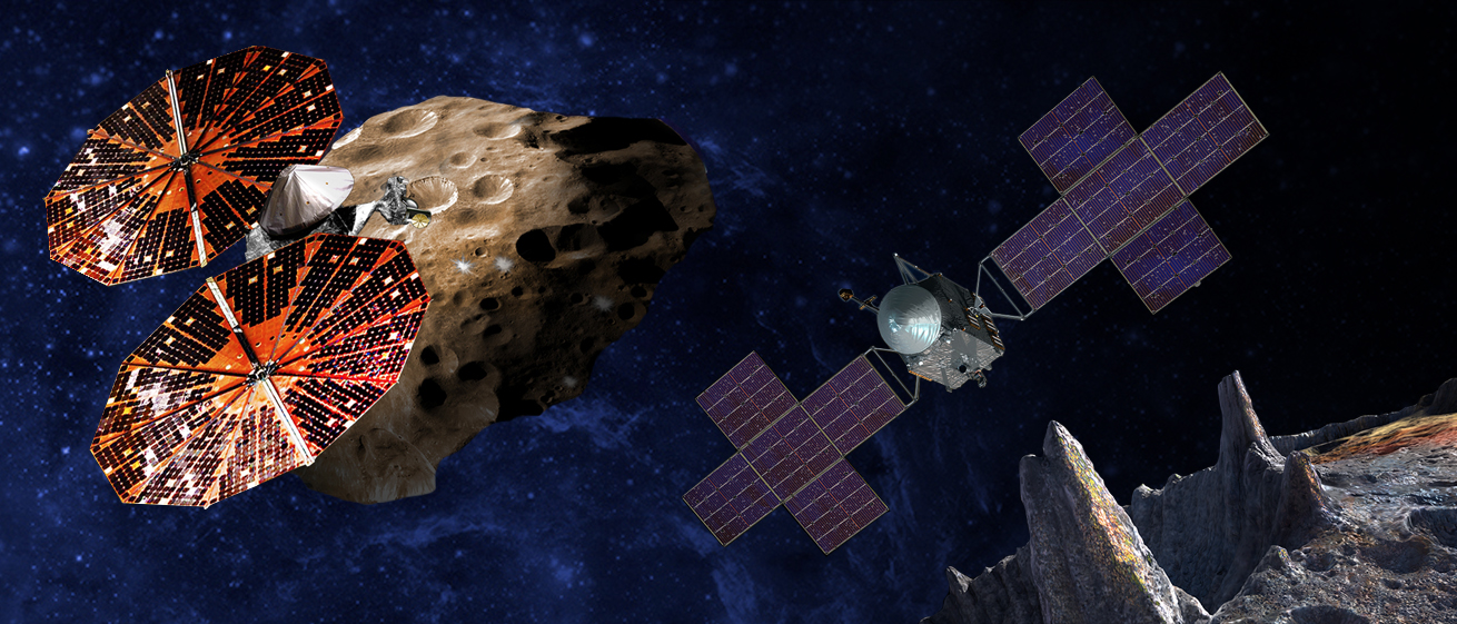 NASA's two missions to explore early solar system