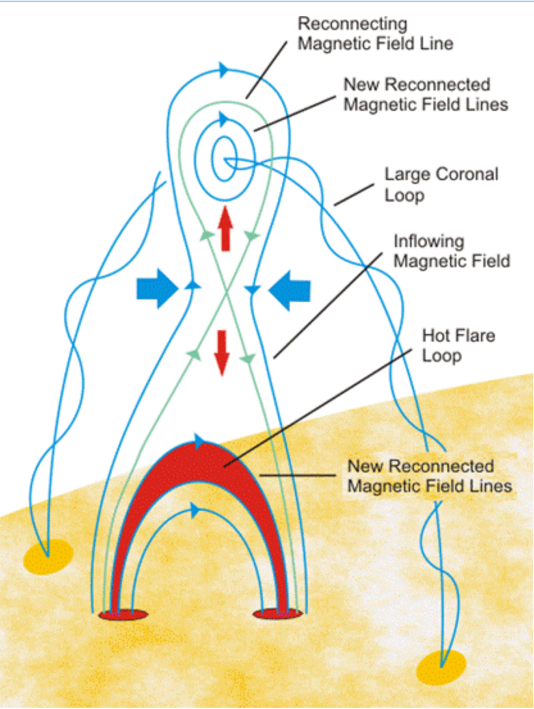 Solar rotation varies by latitude nasa an illustrated model of magnetic reconnection on the sun robcynllc Images