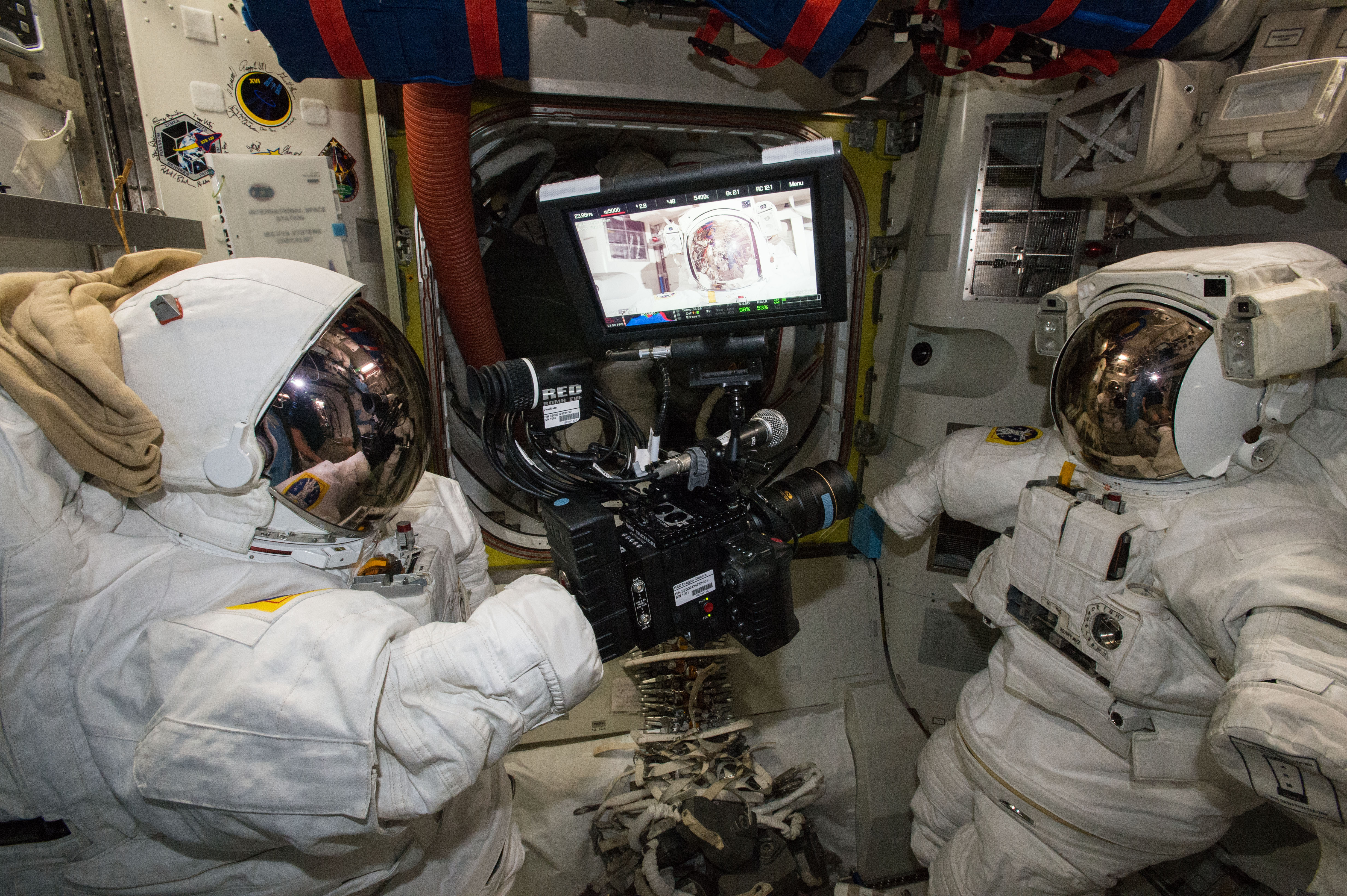 RED Epic Dragon Camera Captures Riveting Images on Space Station | NASA