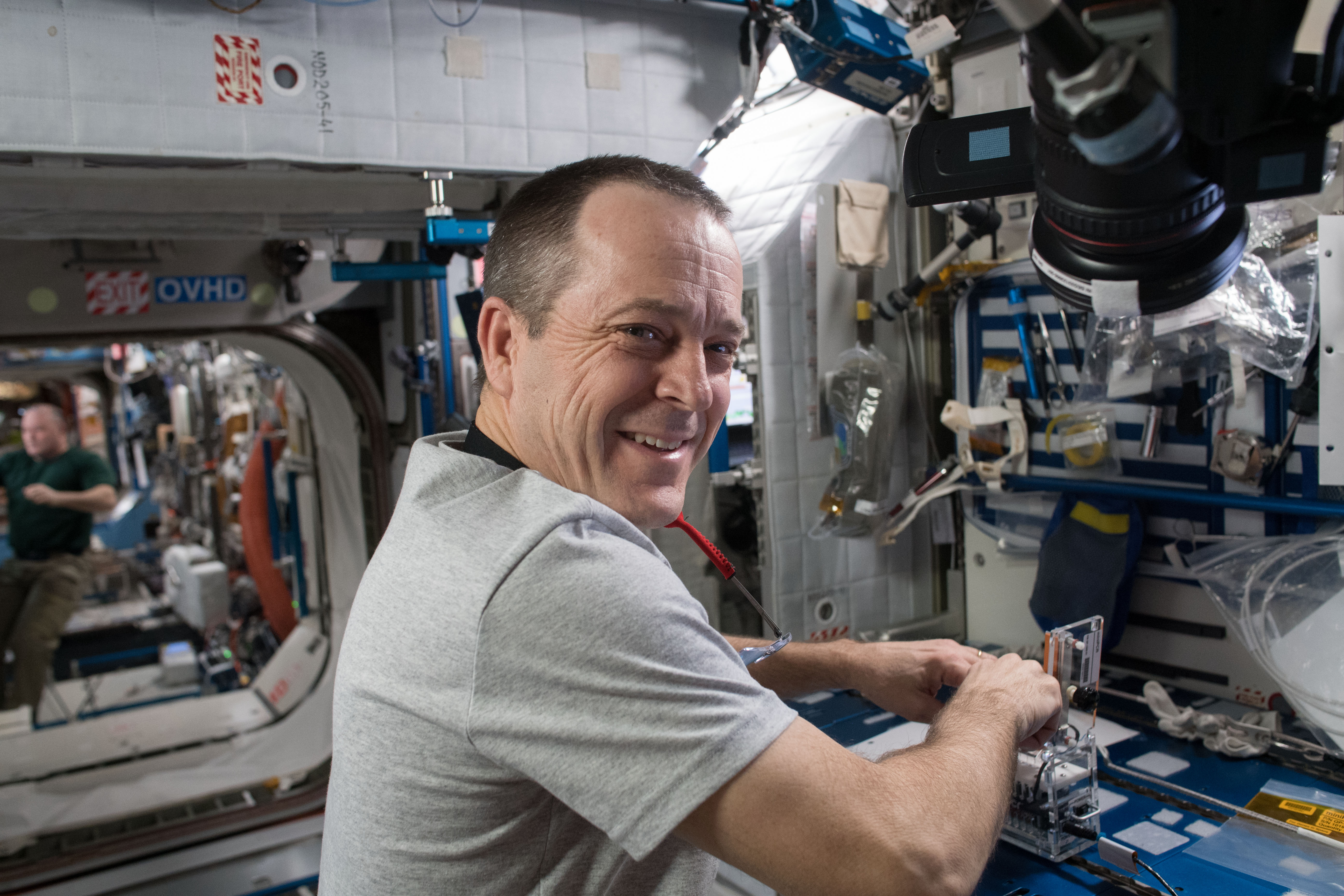 Astronaut-Educator Ricky Arnold Conducts Science on Station | NASA