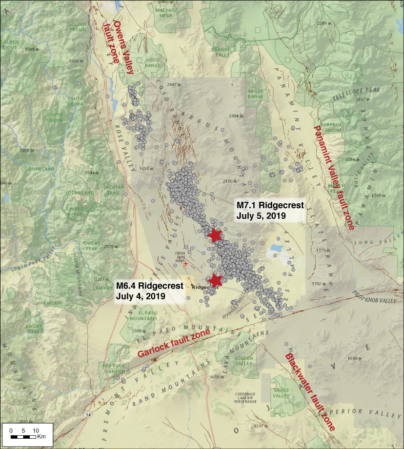 Caltech Nasa Find Web Of Ruptures In Ridgecrest Quake Nasa