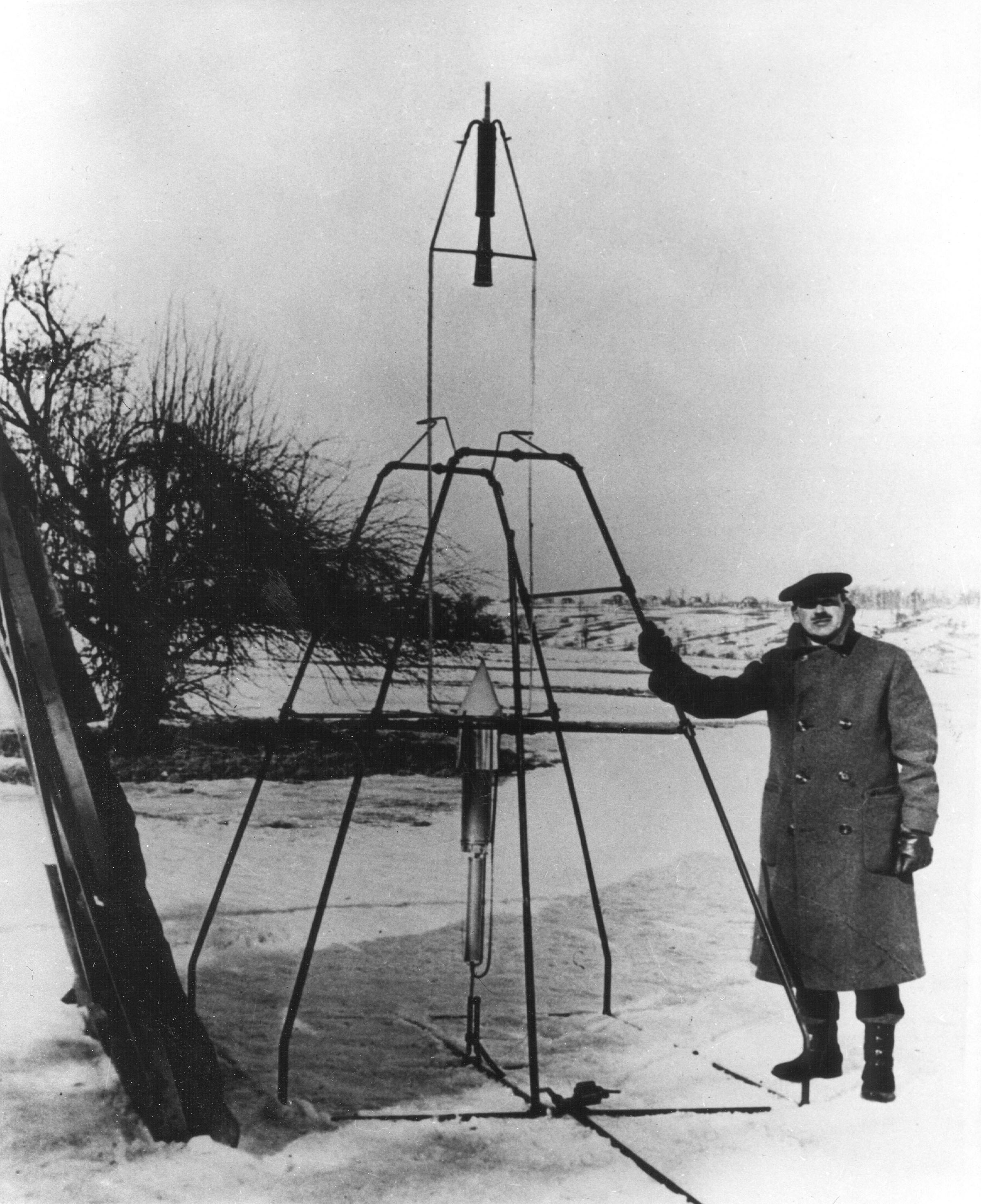 Image result for robert goddard
