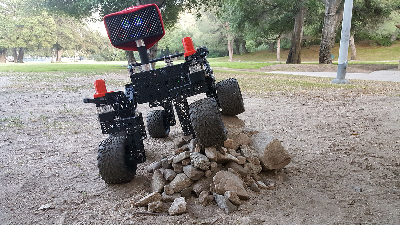 Jpl Built Open Source Rover
