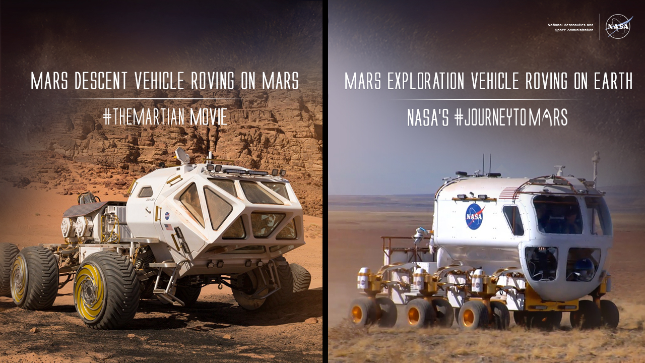 Mars Exploration Vehicle Roving on Earth | NASA